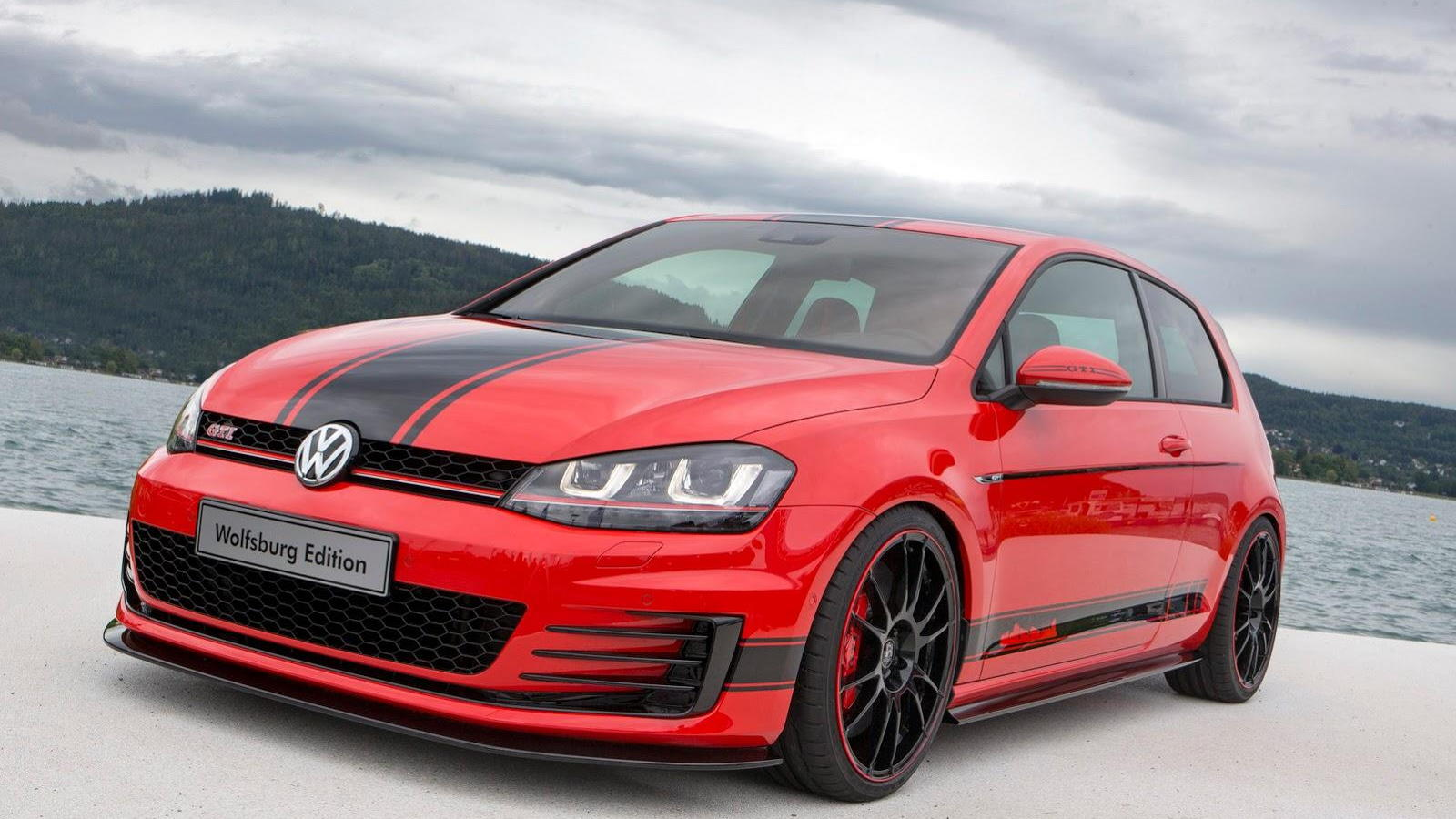 Volkswagen Golf GTI Wolfsburg Edition at Wörthersee 2014