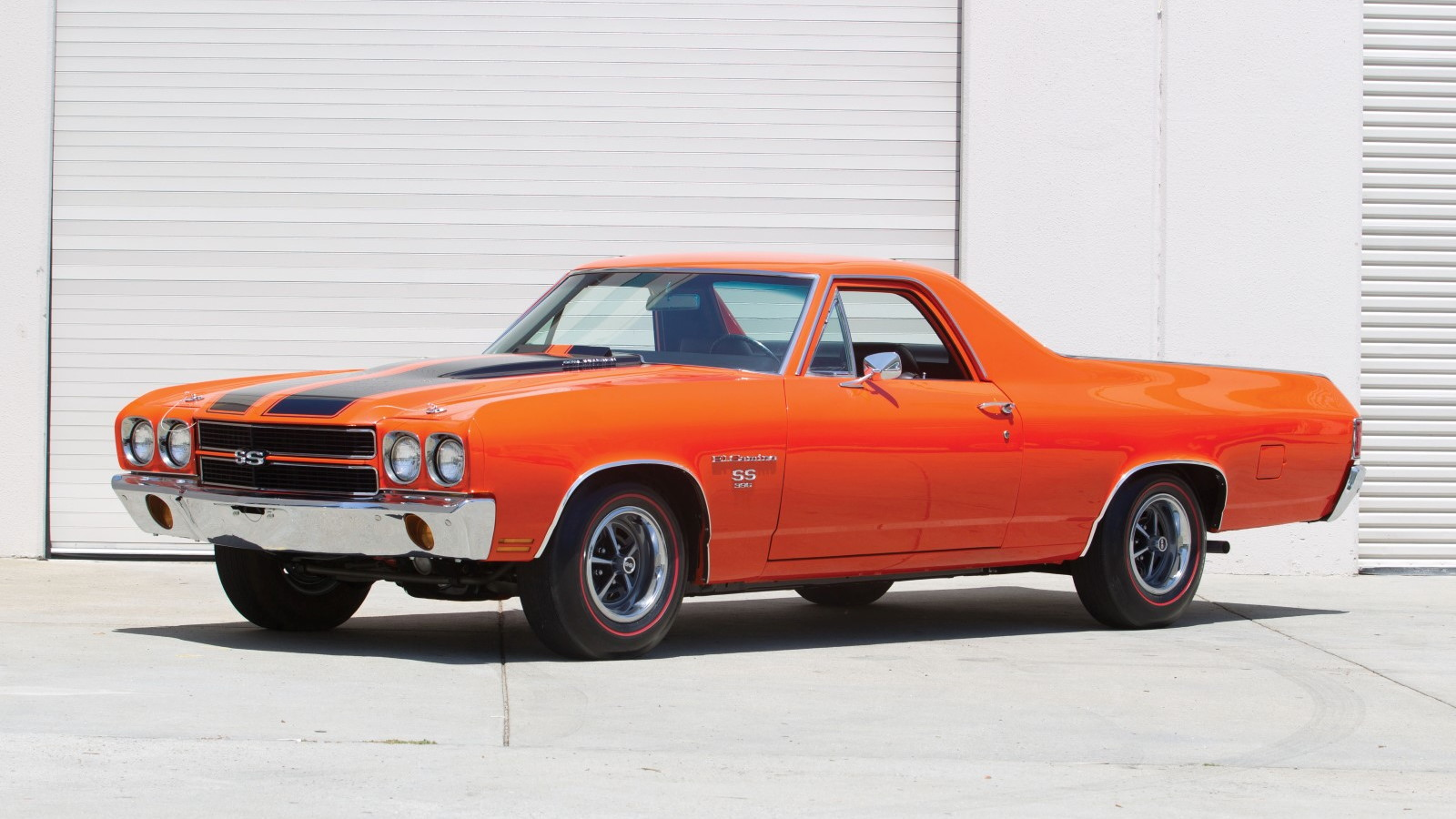 1970 Chevrolet El Camino once owned by Steve McQueen (Image: Auctions America)