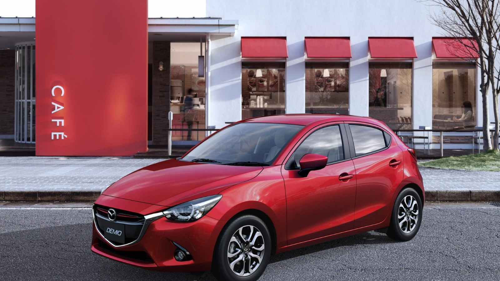 2016 Mazda 2 (Japanese model)