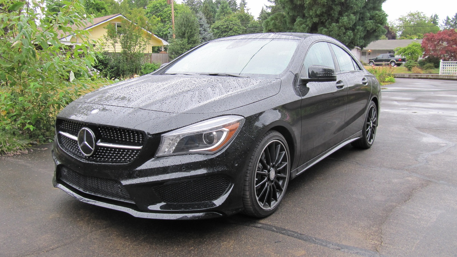 2014 Mercedes-Benz CLA 250, test drive in Oregon, July 2014