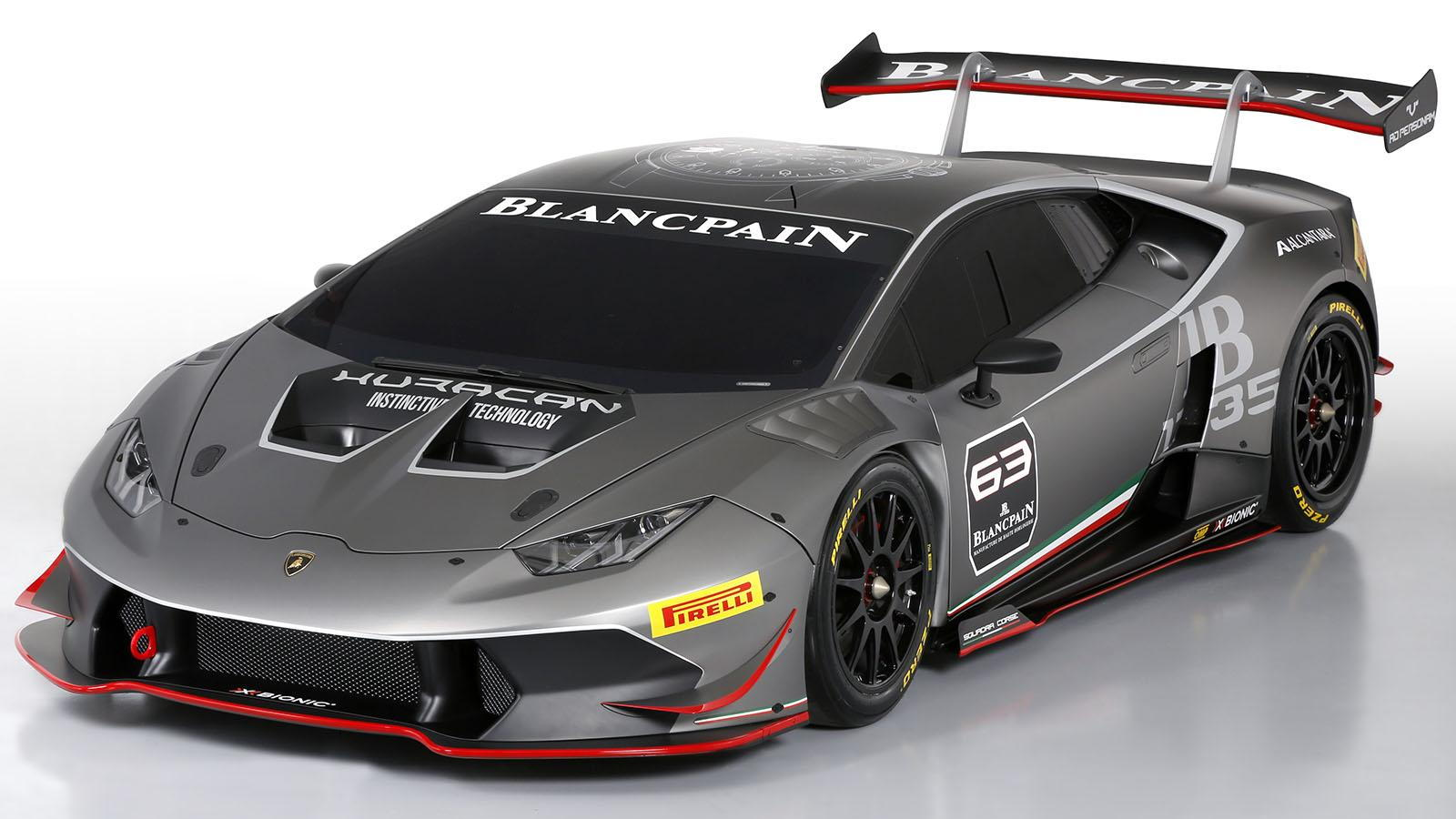 2015 Lamborghini Huracán LP 620-2 Super Trofeo race car
