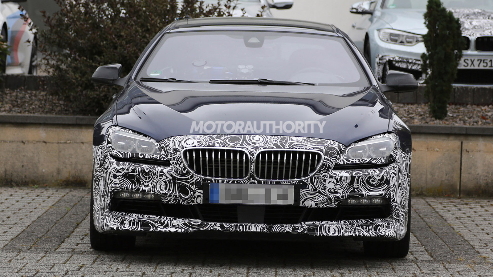 2016 BMW Alpina B6 Gran Coupe facelift spy shots