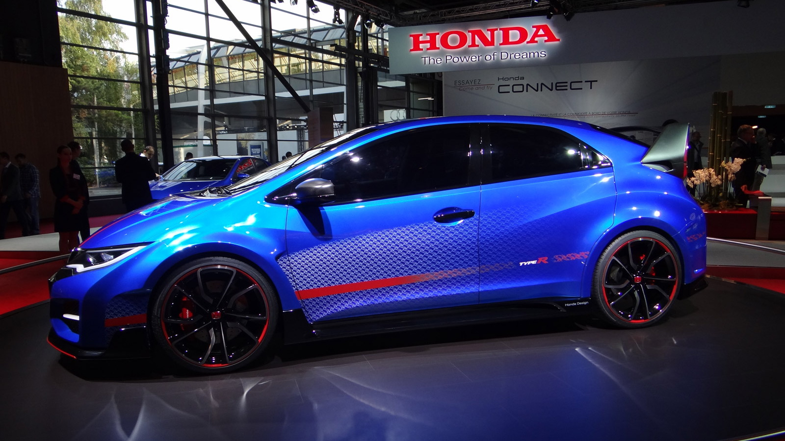 Honda Civic Type R concept, 2014 Paris Auto Show