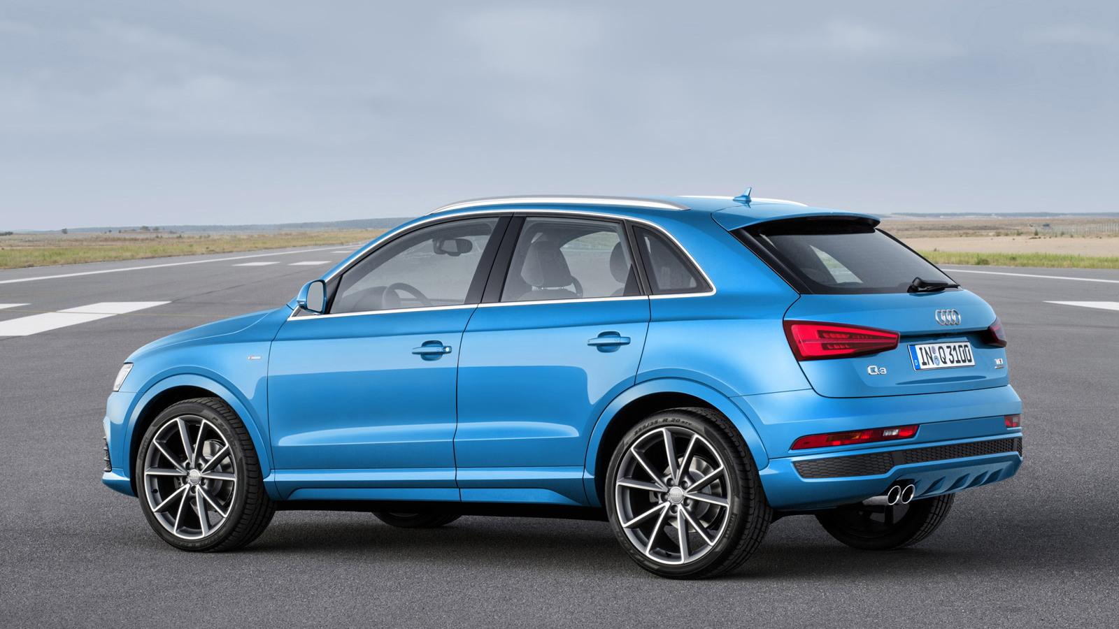 2015 Audi Q3 (European-spec)