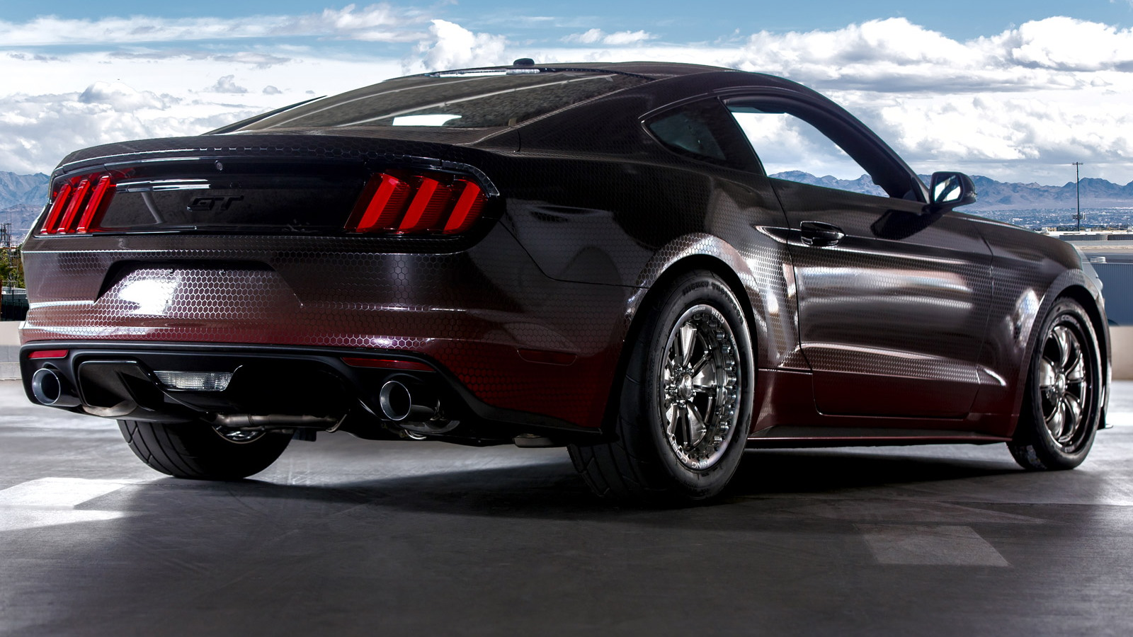 2015 Ford Mustang King Cobra by Ford Racing, 2014 SEMA show