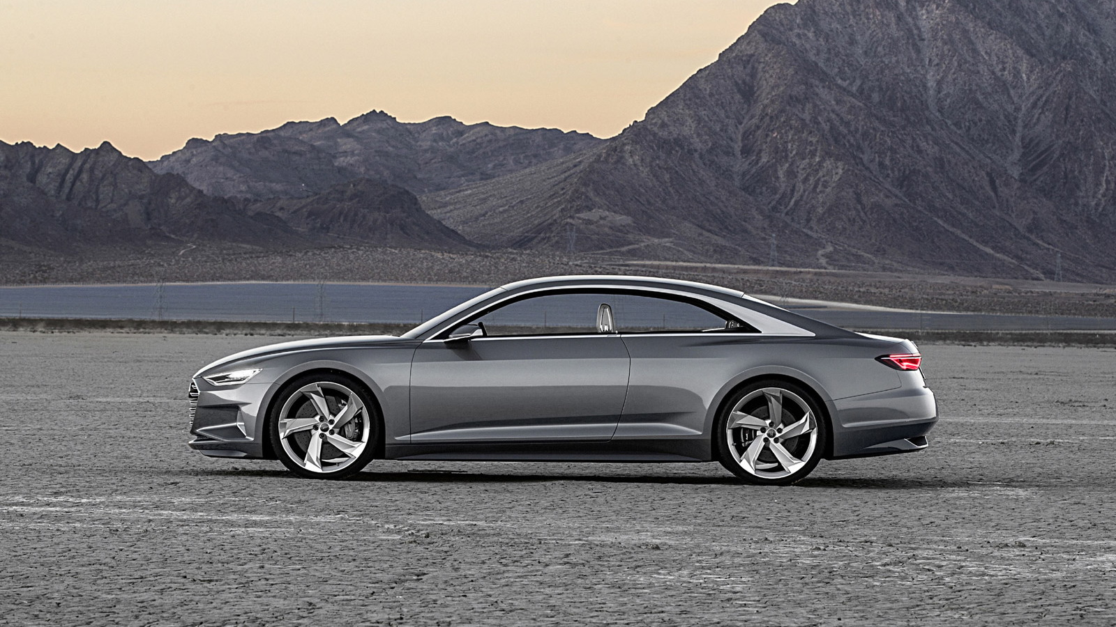 Audi Prologue Piloted Driving concept, 2015 Consumer Electronics Show