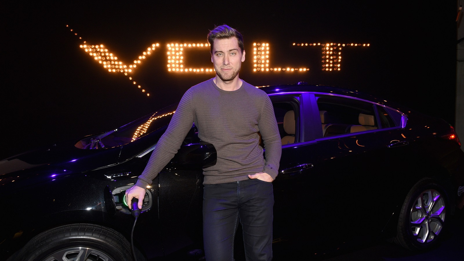2016 Chevrolet Volt with Lance Bass, Jan 2015