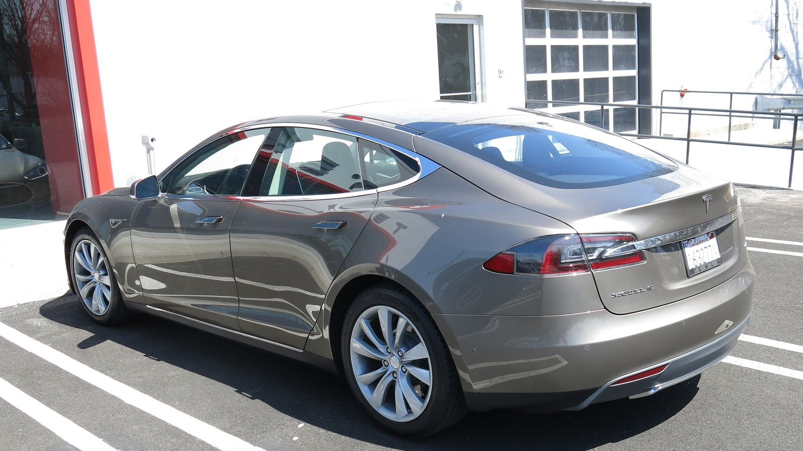 2015 Tesla Model S 70d First Drive Of New Electric Car Base