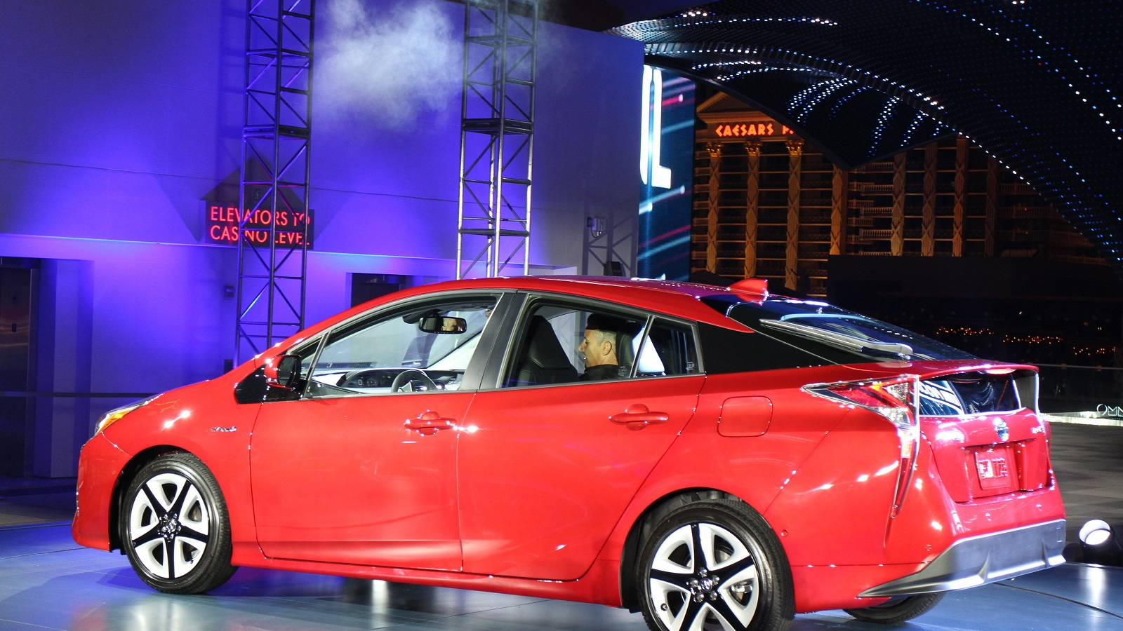 2016 Toyota Prius, global launch, Las Vegas, Sept 2016