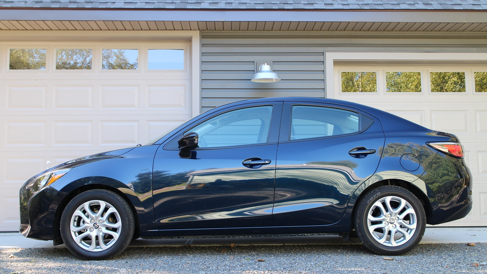 2016 Scion iA, upstate New York, Sept 2015