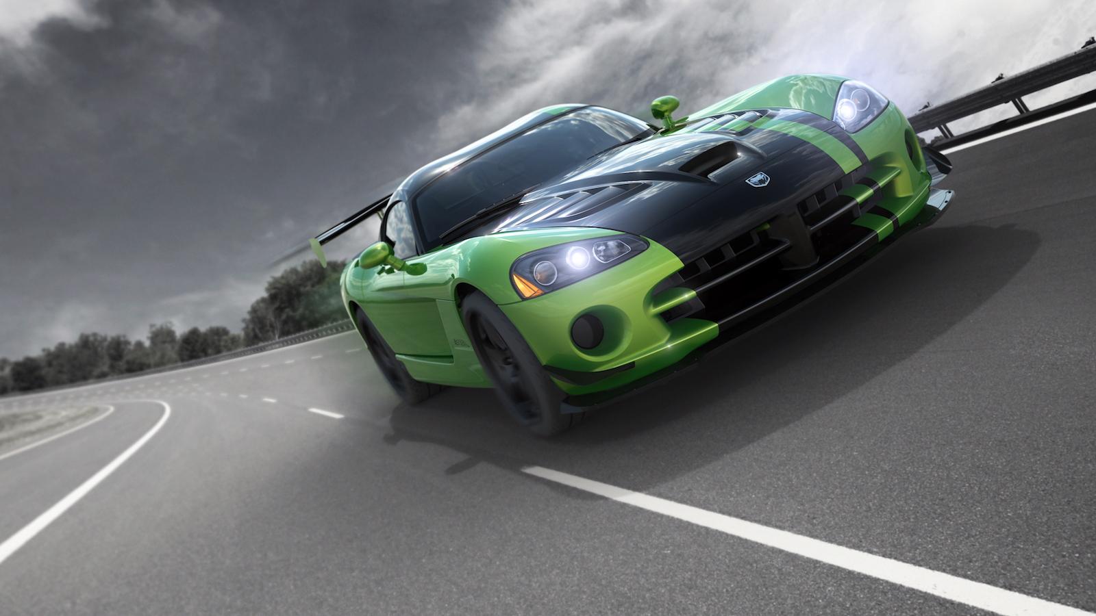 2010 Snakeskin Dodge Viper ACR