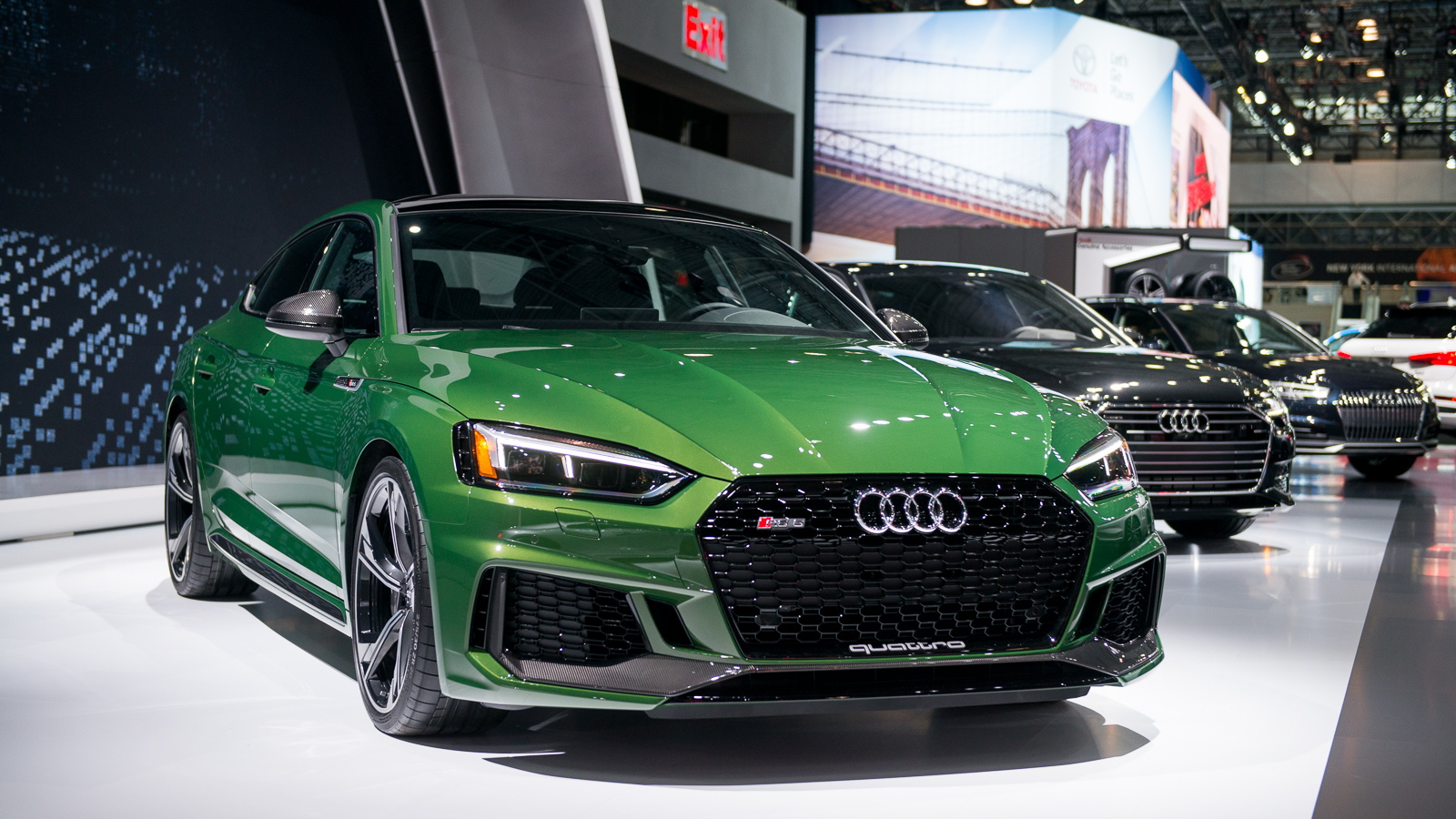 2019 Audi RS 5 Sportback, 2018 New York auto show