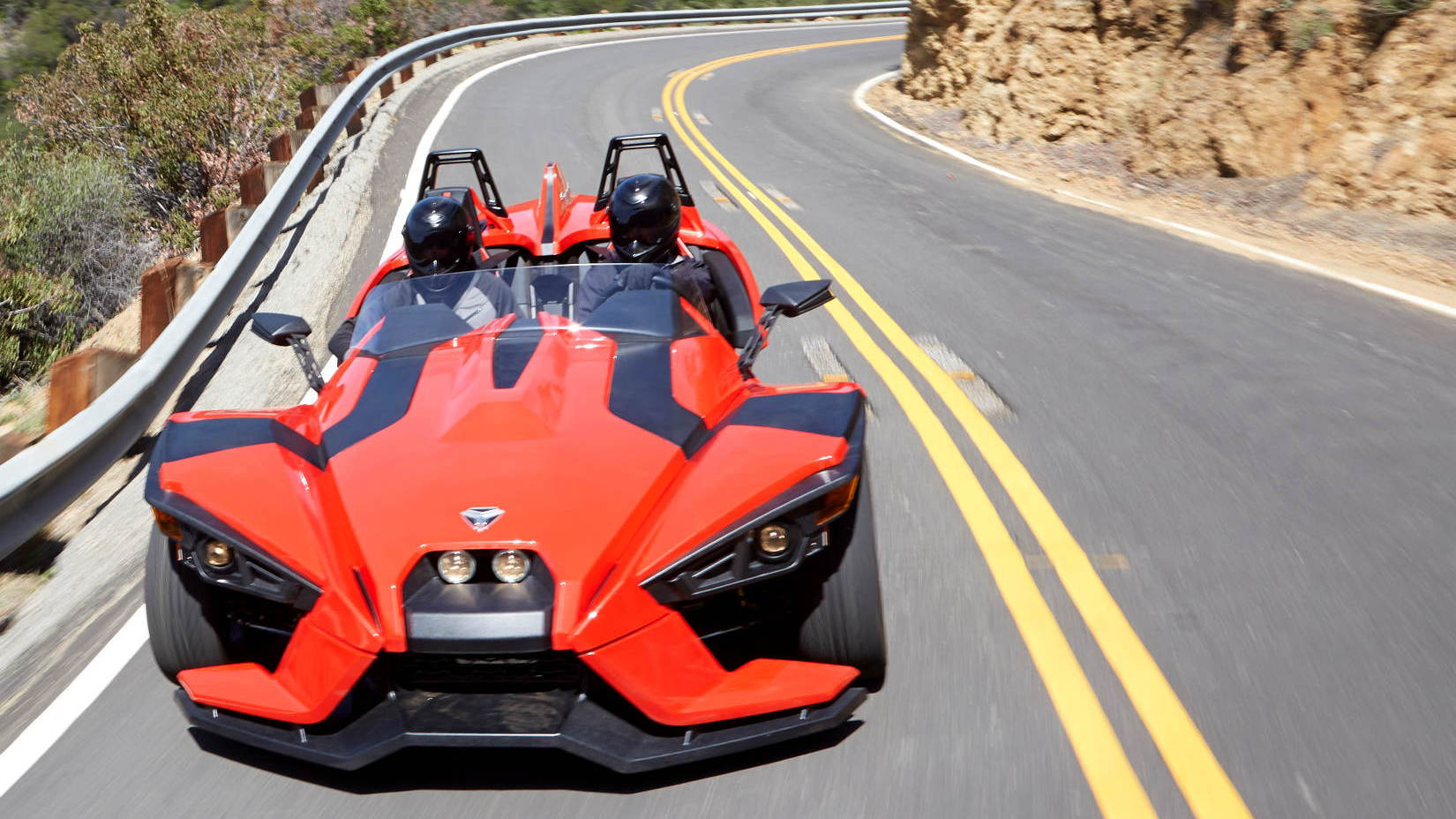 3 Wheel Car >> Polaris Slingshot Is A 173 Hp 20k 3 Wheeled Motorcycle