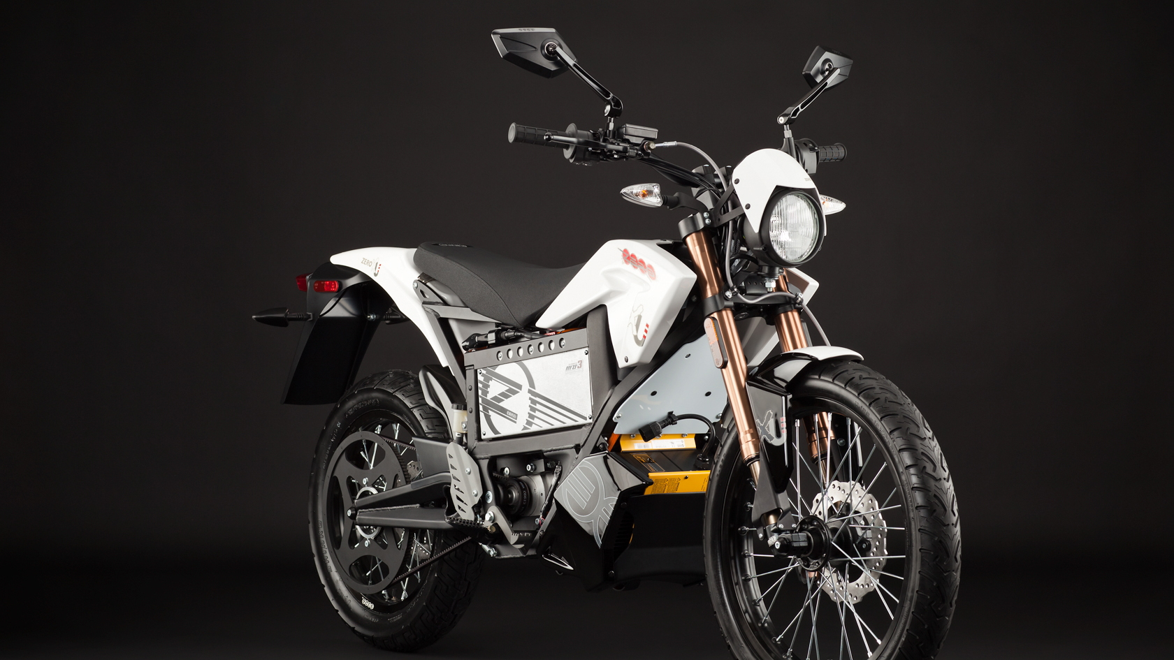 2012 Zero XU electric motorcycle