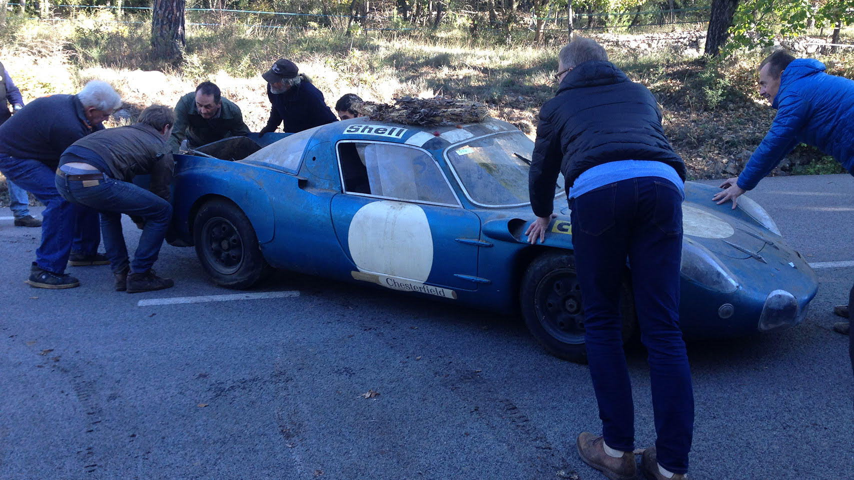 Alpine A210 Le Mans prototype auction