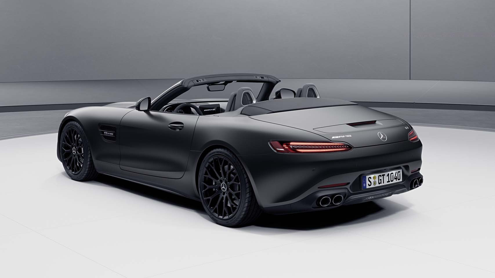 2021 Mercedes-AMG GT Stealth Edition Roadster