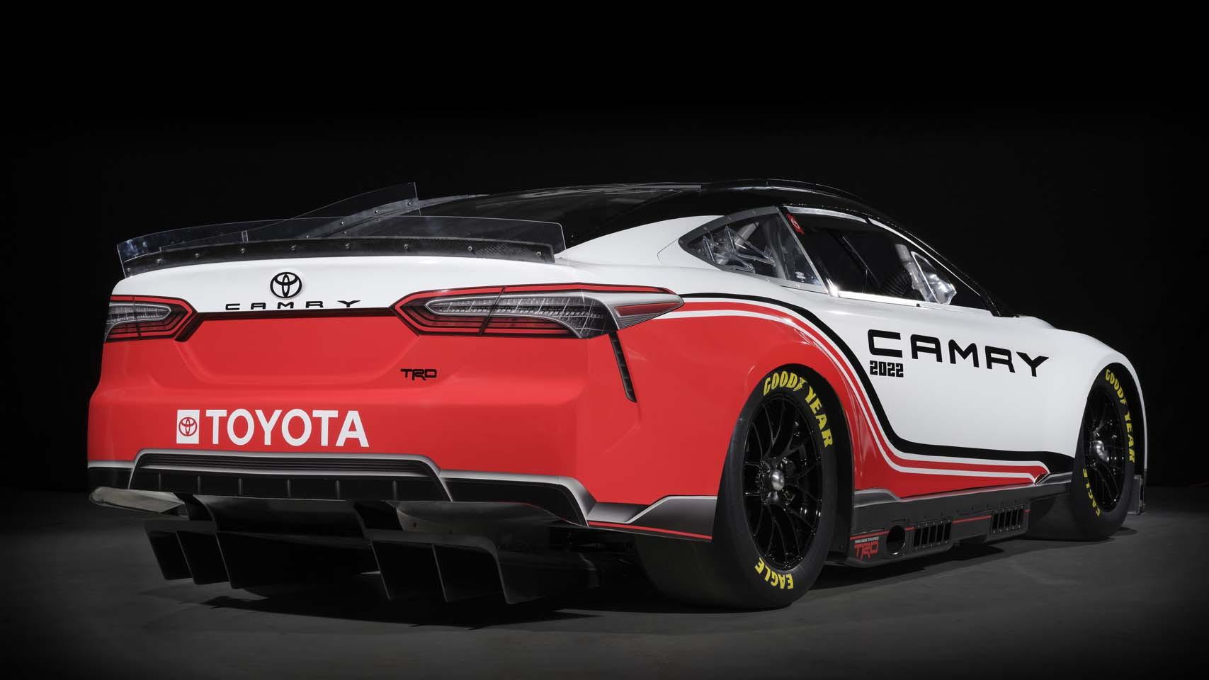 Toyota TRD Camry Next Gen NASCAR race car