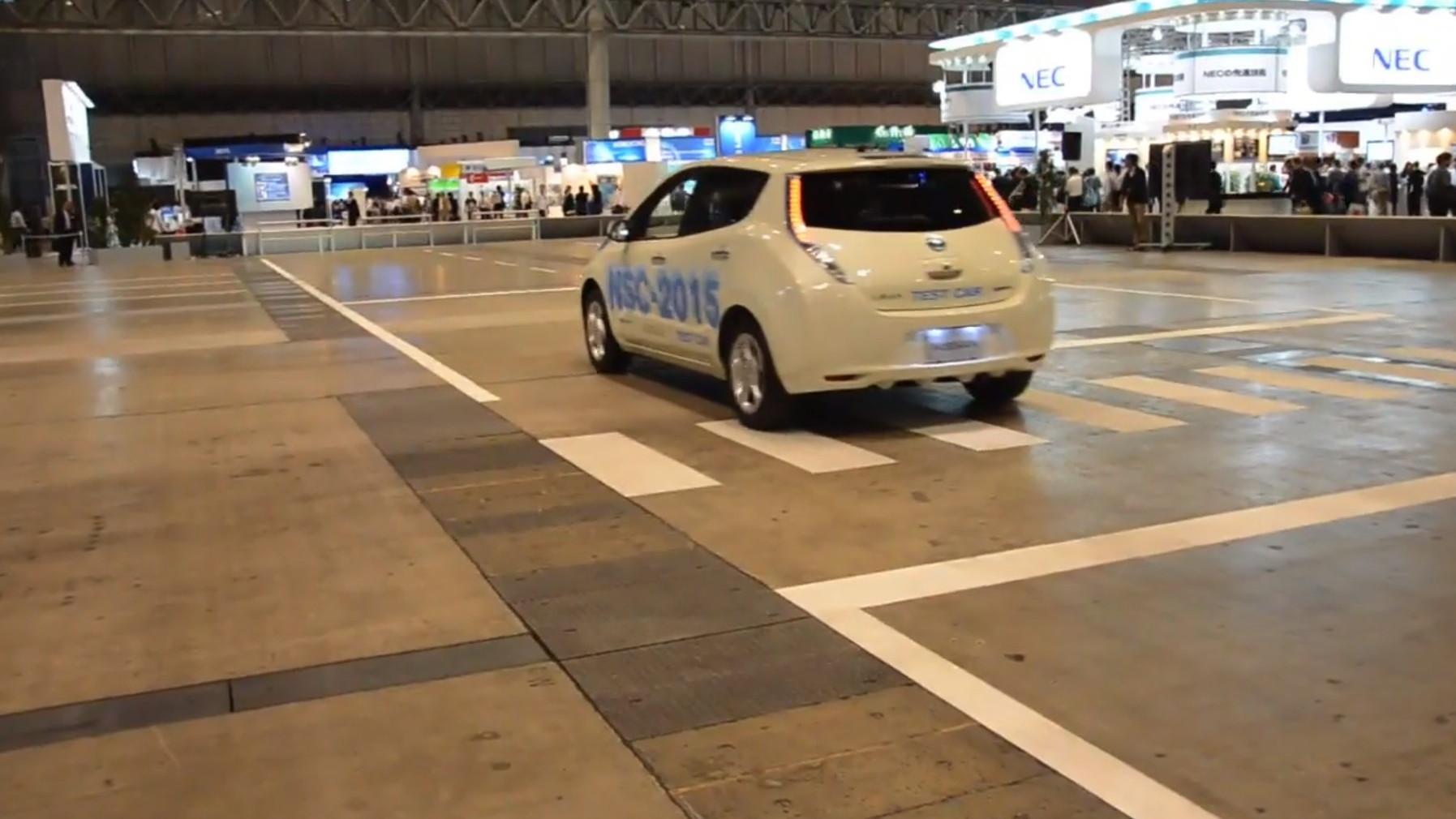 Nissan Leaf Self-Driving Car