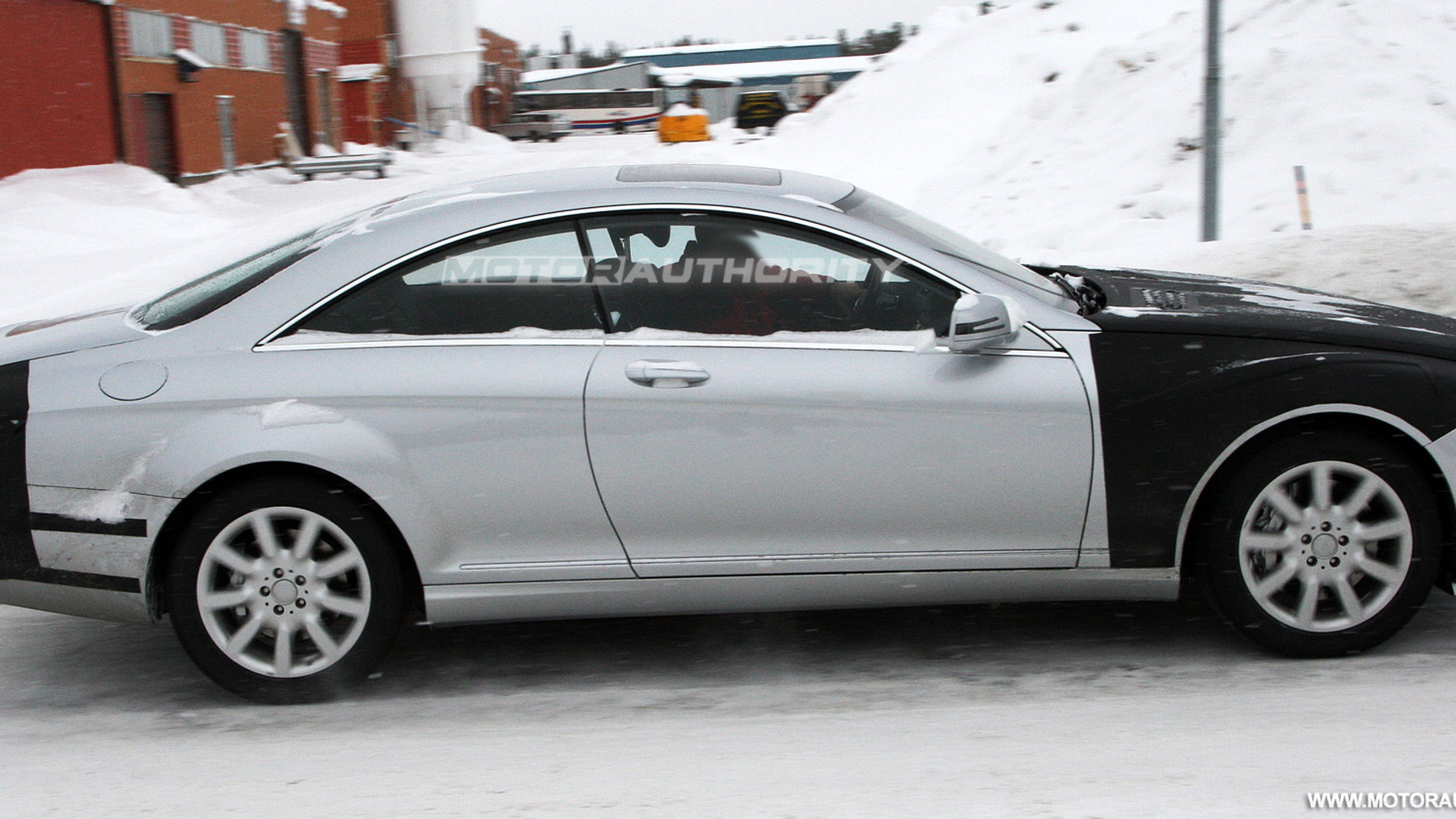 2011 mercedes benz s class coupe spy shots march 004
