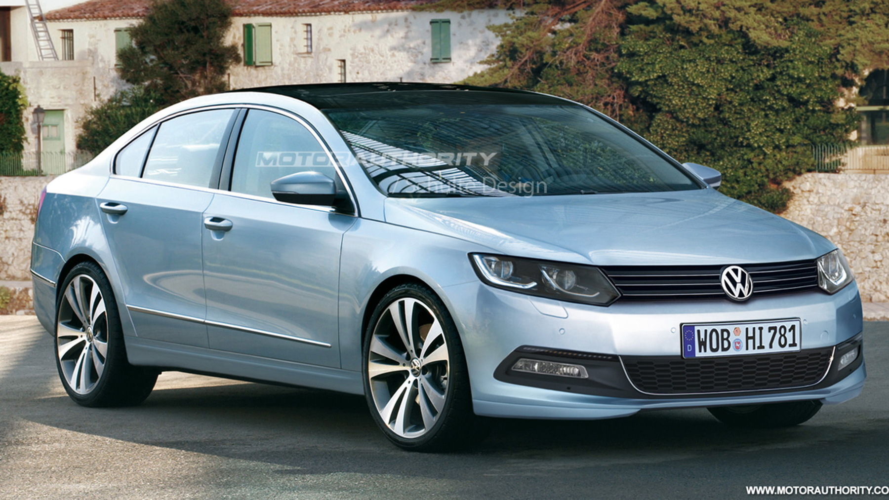 2012 volkswagen passat preview rendering 001