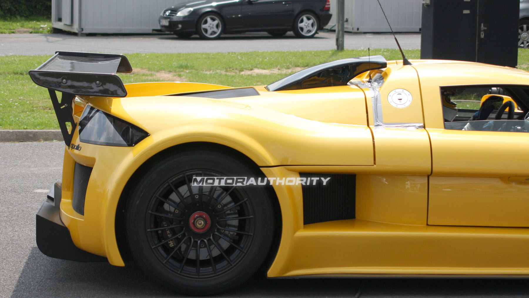 gumpert apollo speed spy shots june 008