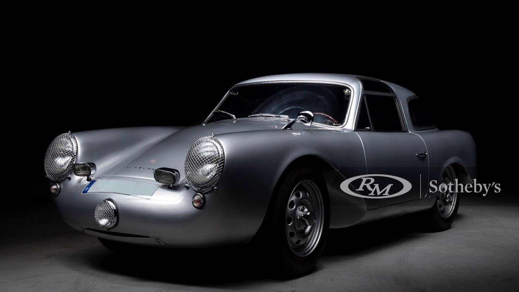 1954 Glöcker-Porsche 356 Carrera 1500 coupe (photo via RM Sotheby's)