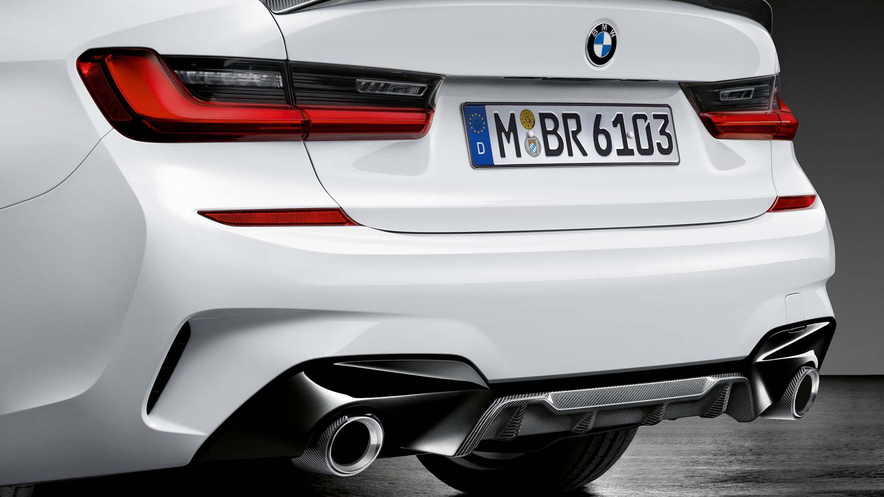 bmw is ready with m performance parts for the new 3 series2019 bmw 3 series m performance parts