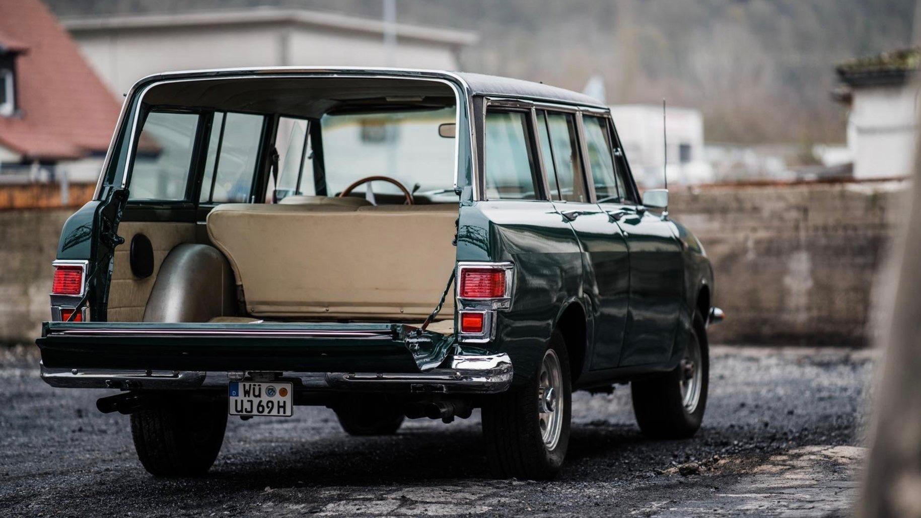 "1969 Jeep Wagoneer ""Jerrari"" (Photo by Classic Driver Market)"
