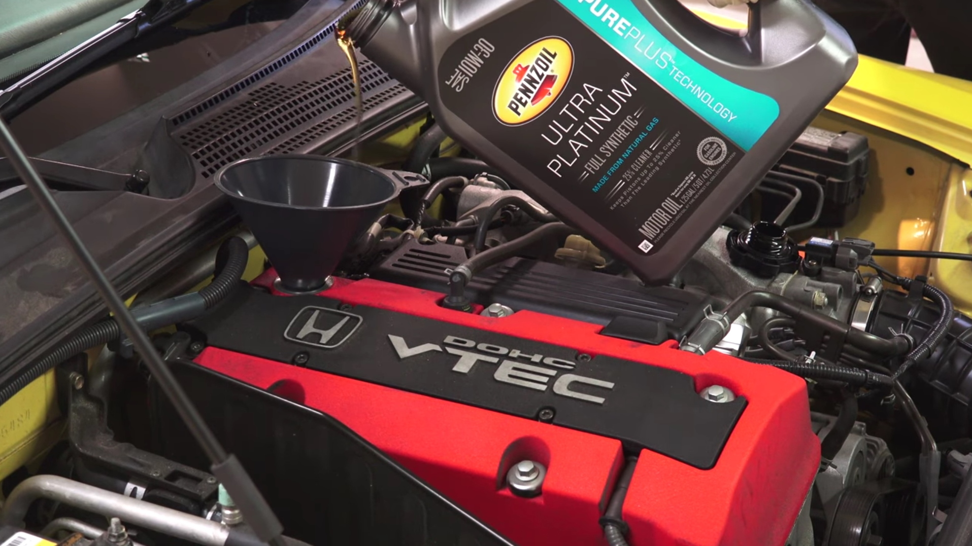 New study shows synthetic oil handily outperforms