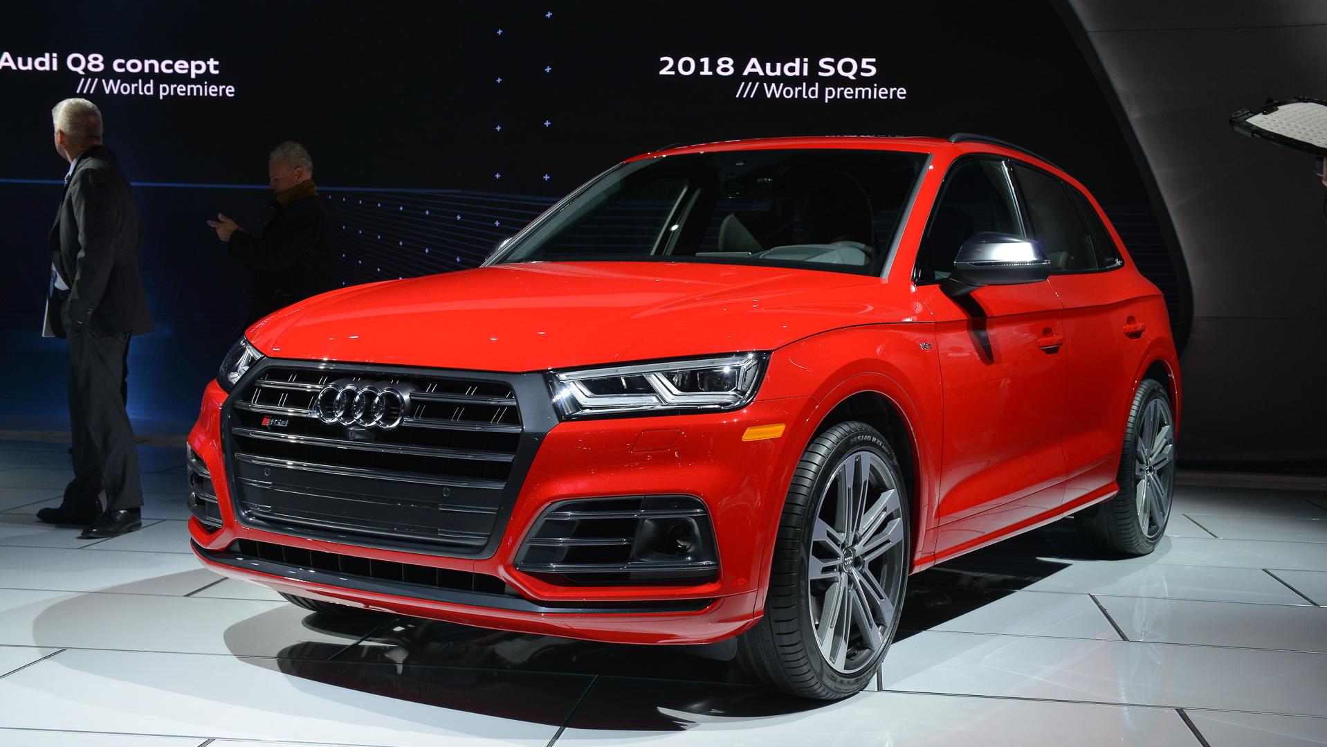 2018 Audi SQ5, 2017 Detroit auto show