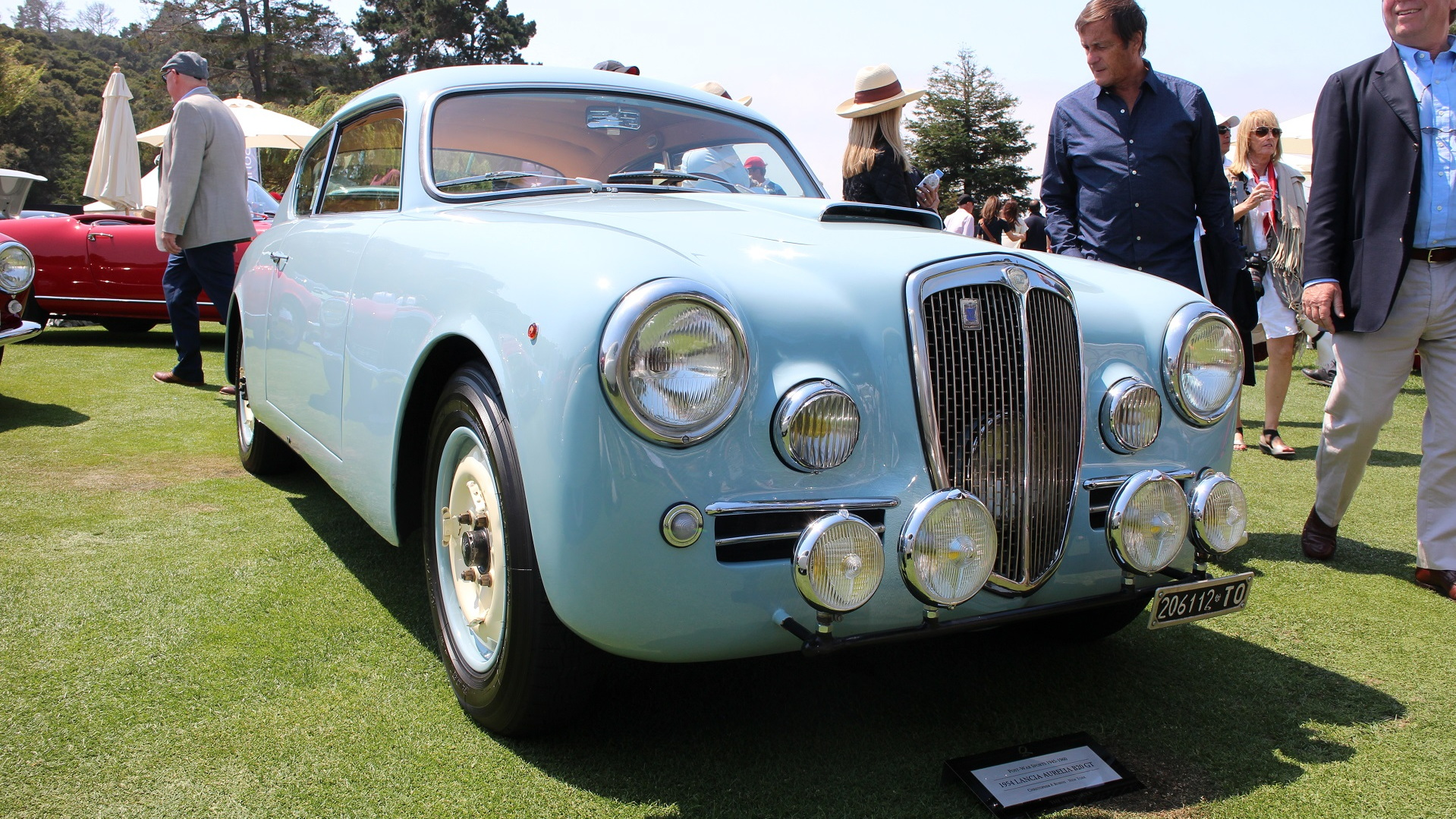 1954 Lancia Aurelia B20 GT, The Quail, 2017 Monterey Car Week
