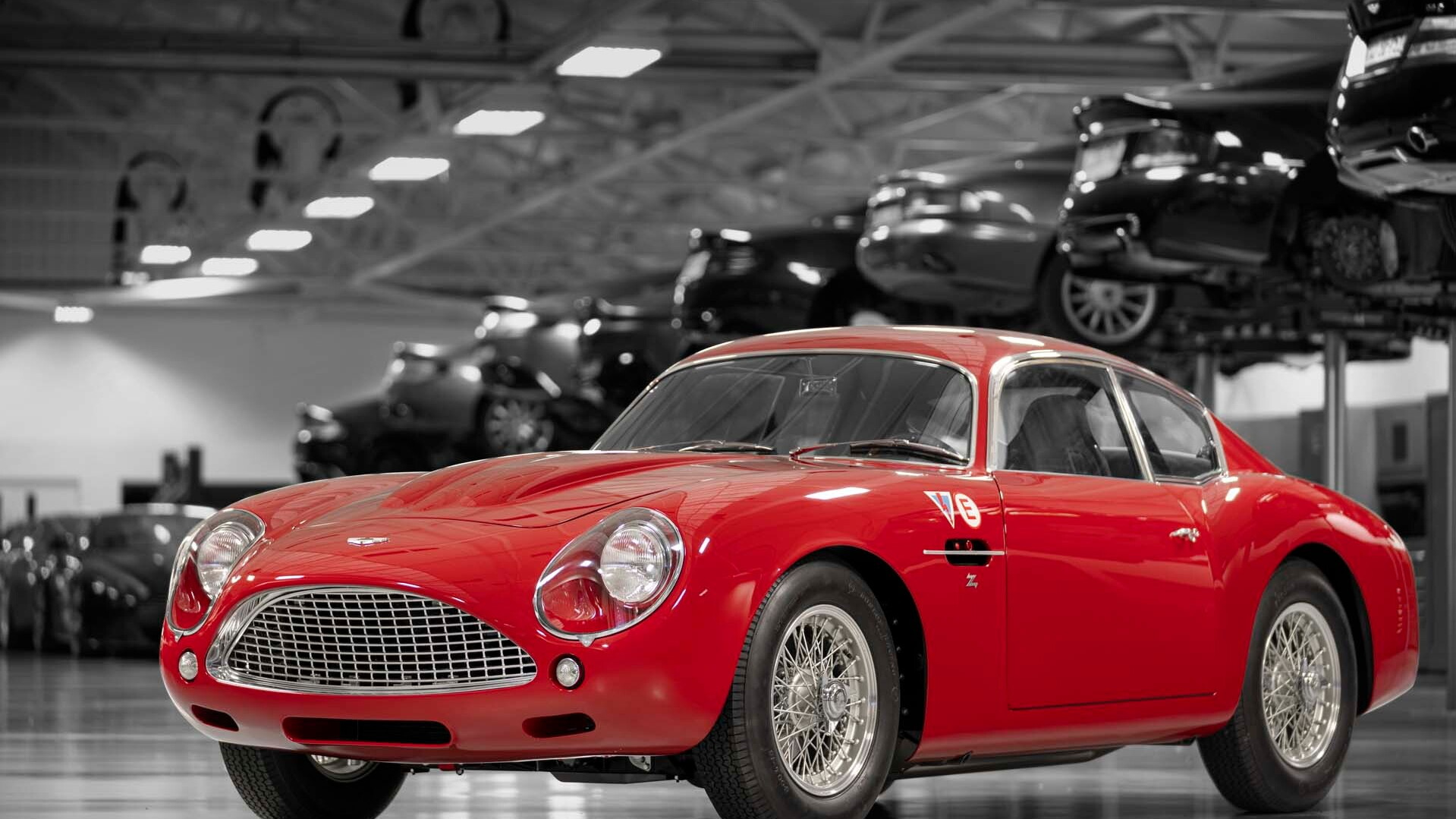 2019 Aston Martin DB4 GT Zagato continuation car