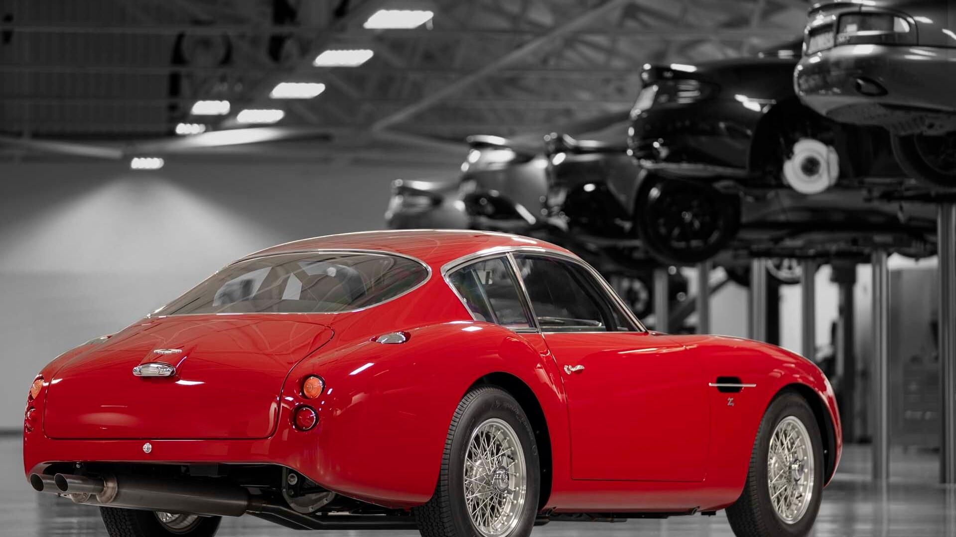 Aston Martin DB4 GT Zagato continuation car