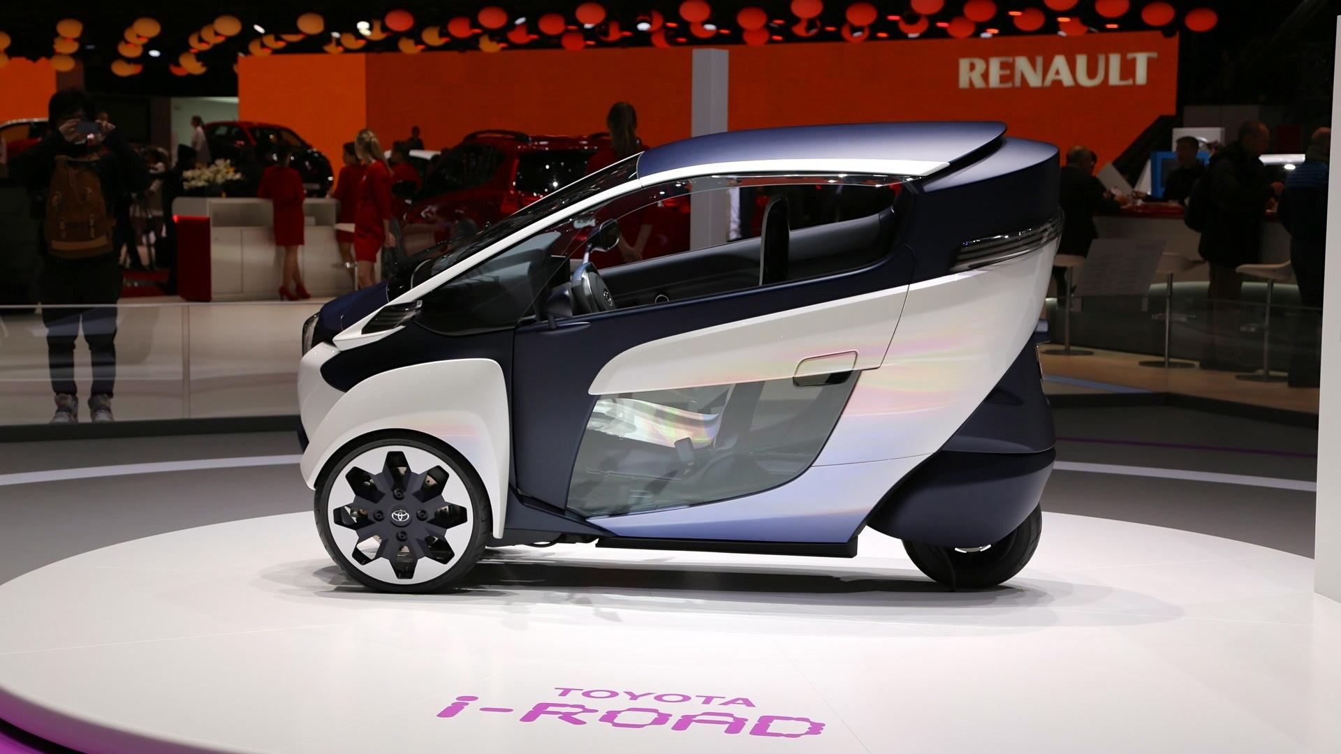 Toyota i-Road Concept, 2013 Geneva Motor Show