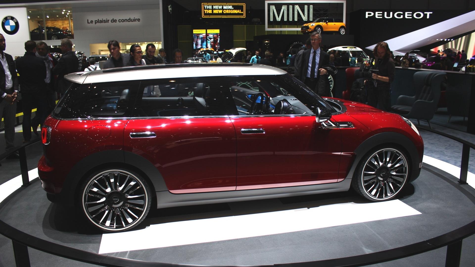 MINI Clubman Concept  -  2014 Geneva Motor Show live photos