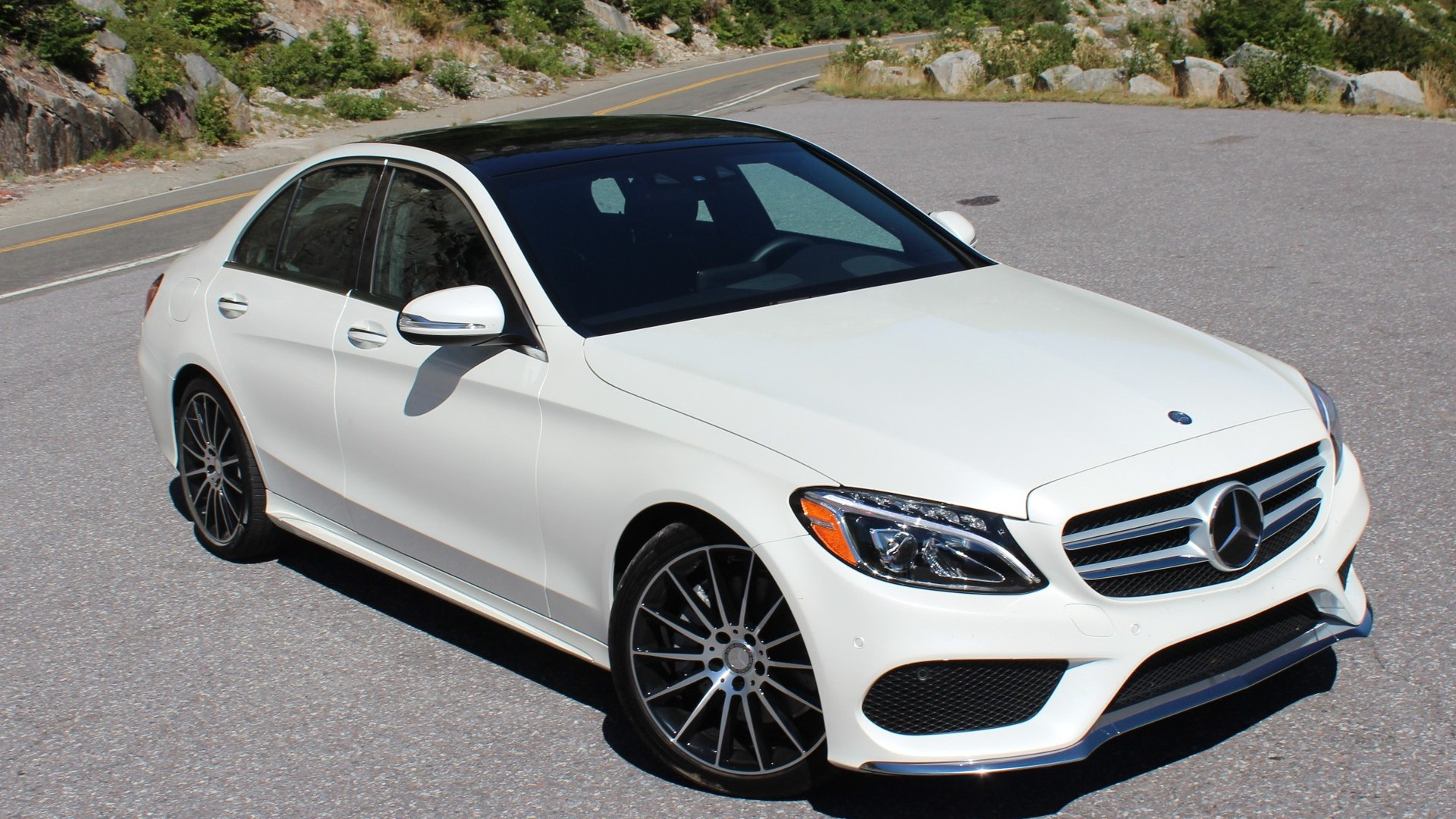 2015 Mercedes-Benz C-Class  -  First U.S. Drive,  August 2014