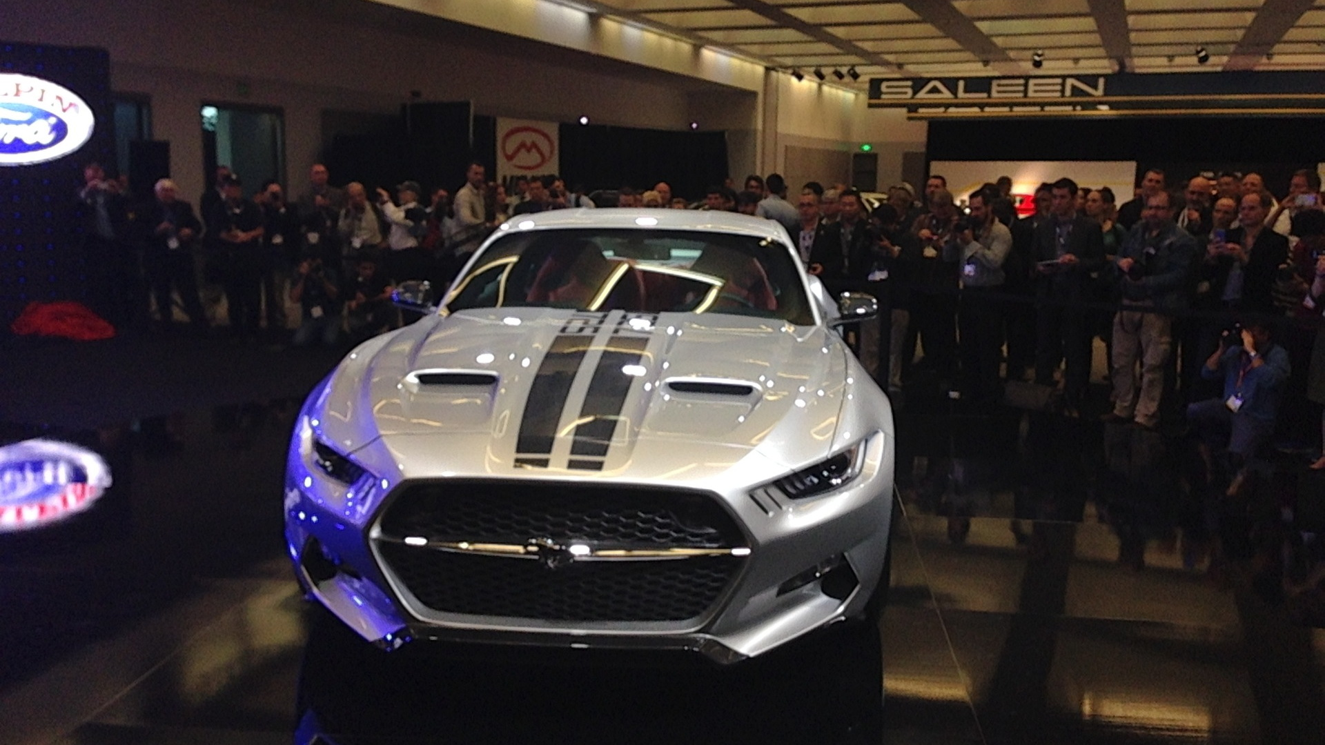 Galpin Auto Sports and Henrik Fisker Rocket, 2014 Los Angeles Auto Show