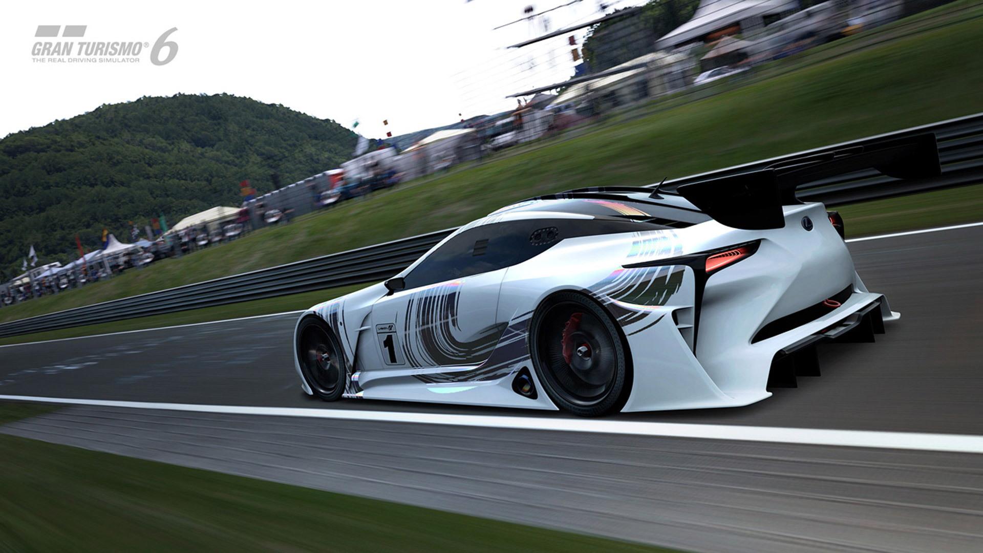 Lexus LF-LC GT Vision Gran Turismo concept