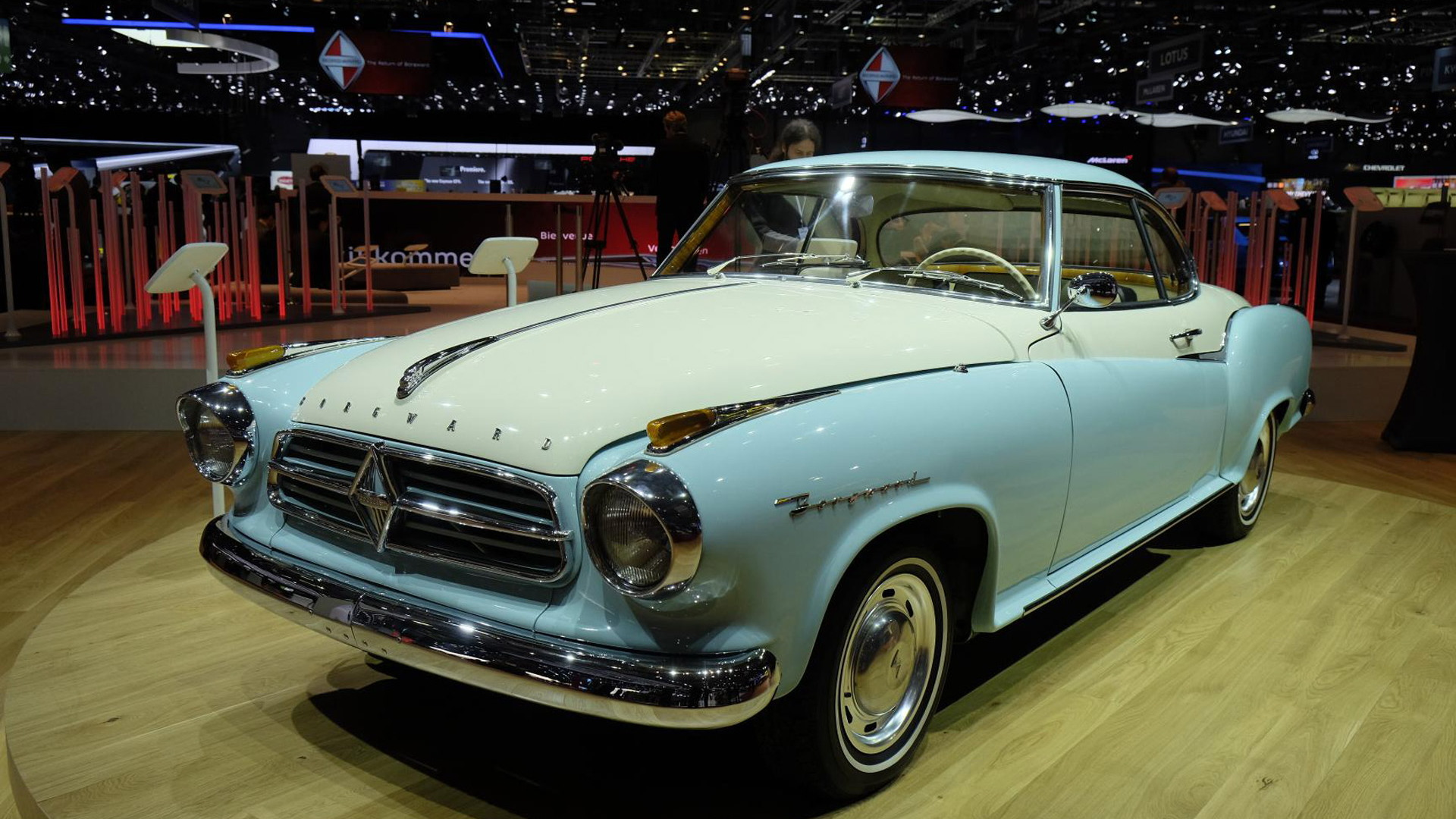 1957 Borgward Isabella Coupe