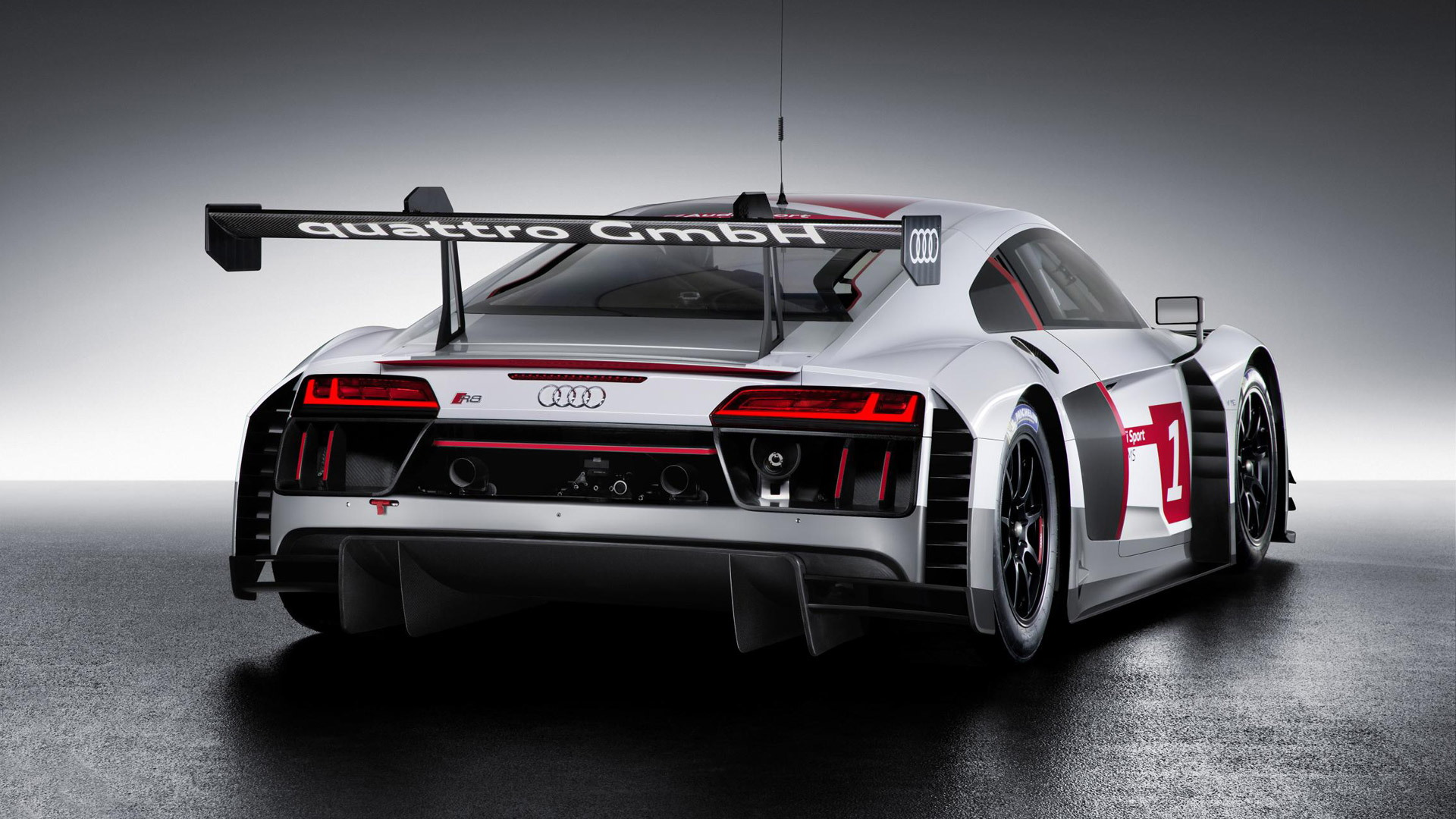 2016 Audi R8 LMS race car