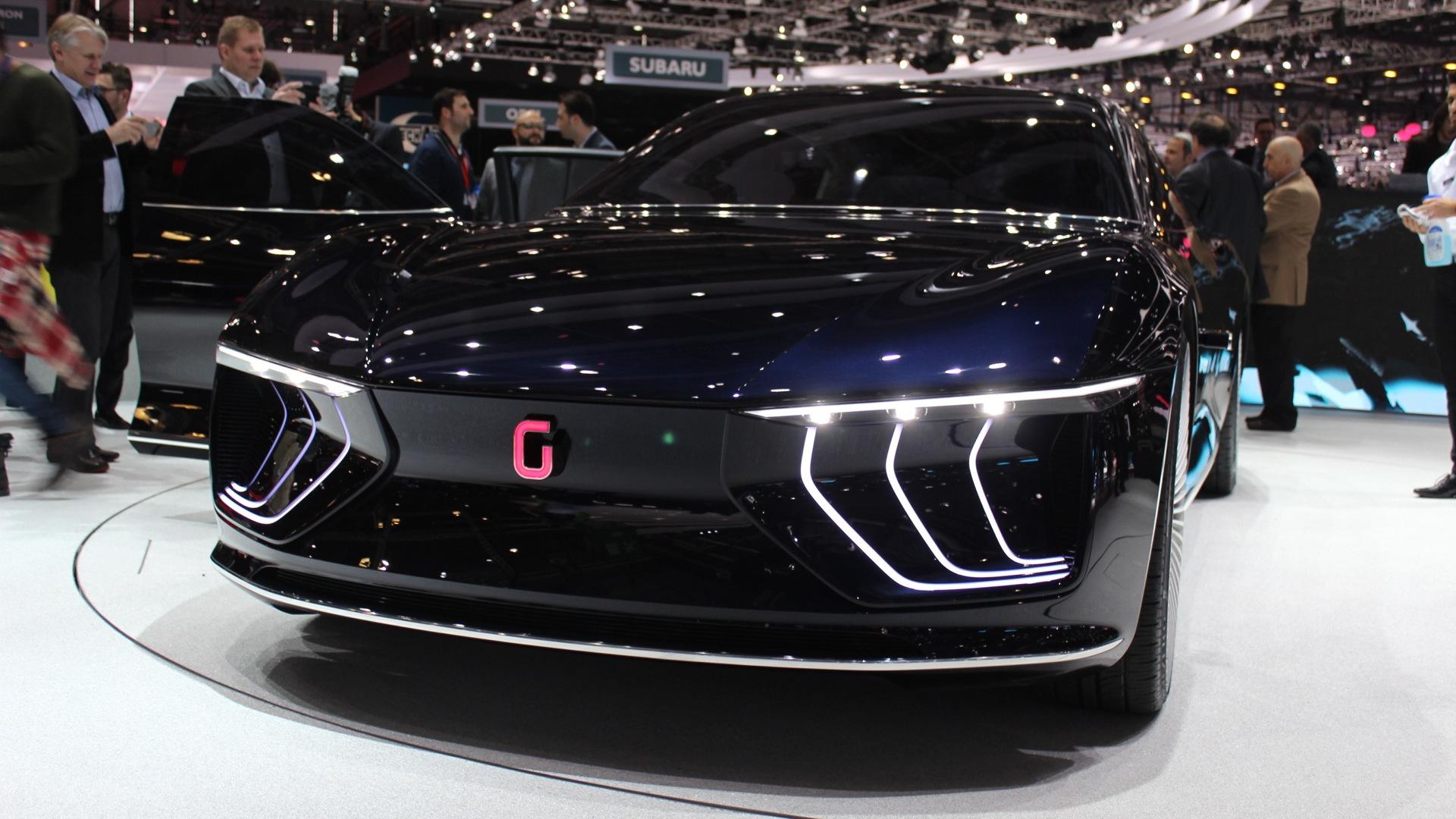 Italdesign Giugiaro GEA concept, 2015 Geneva Motor Show