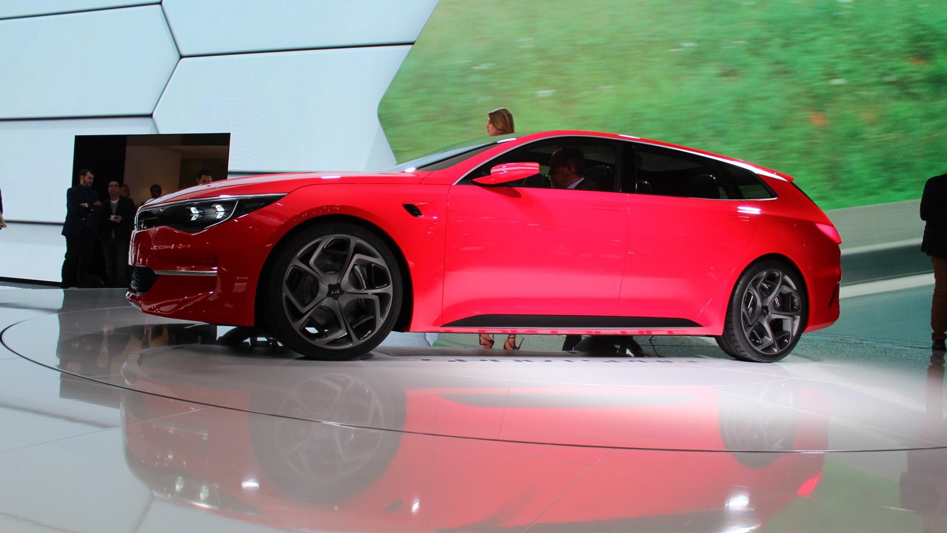 Kia Sportspace Concept  -  2015 Geneva Motor Show live photos
