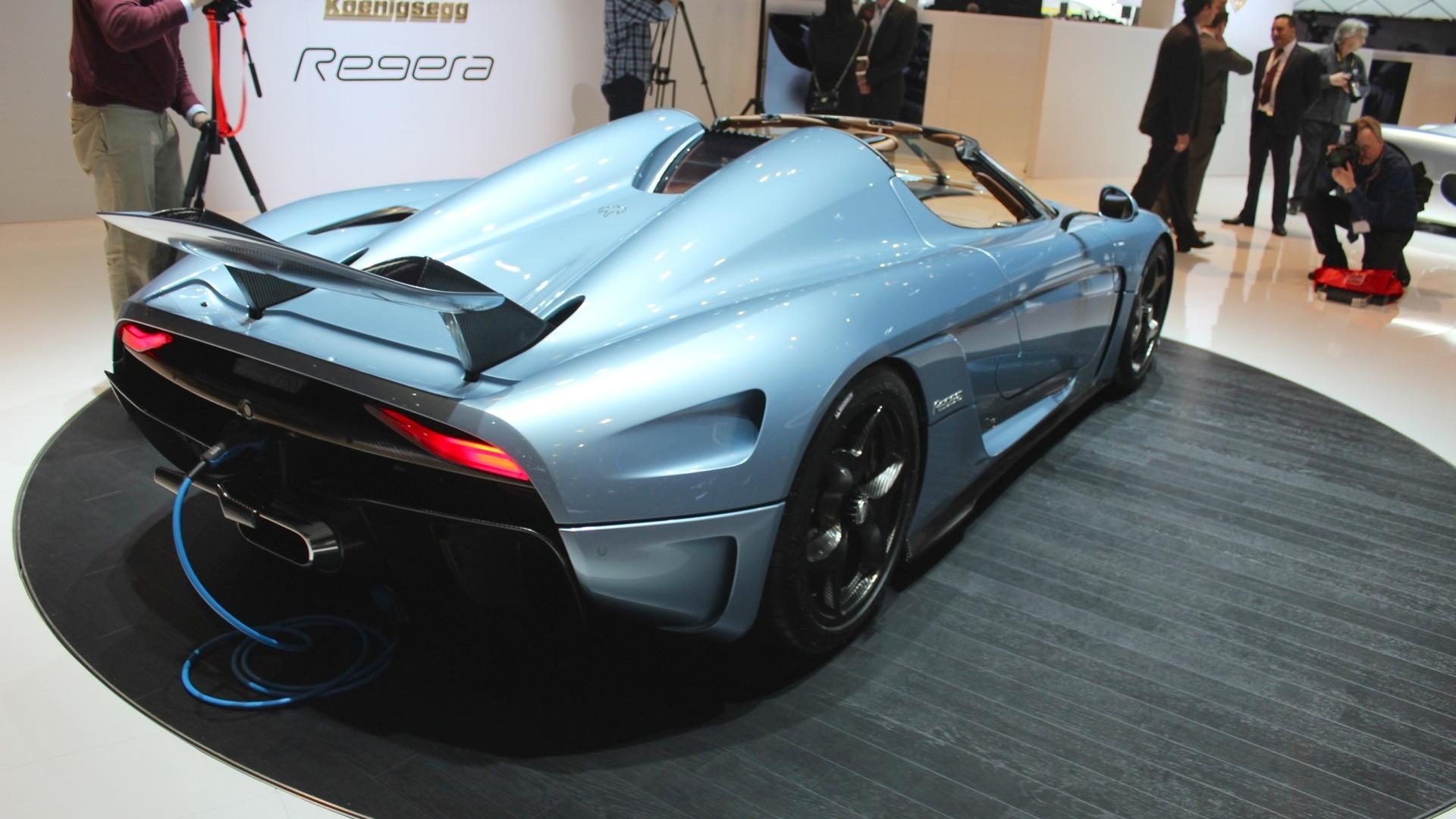Koenigsegg Regera  -  2015 Geneva Motor Show live photos