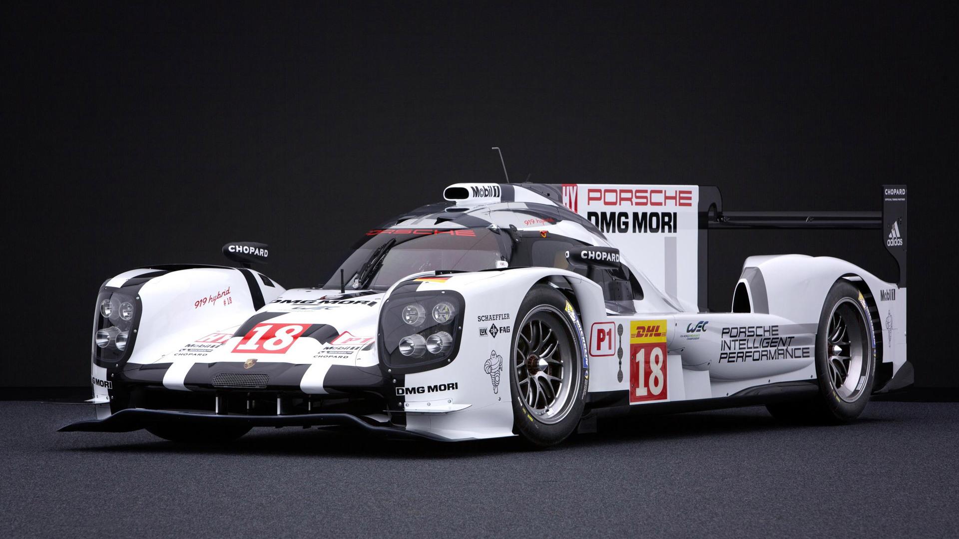 2015 Porsche 919 Hybrid Le Mans prototype