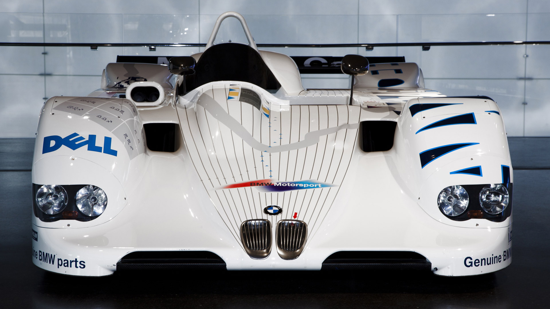 BMW V12 LMR that won overall in the 1999 24 Hours of Le Mans