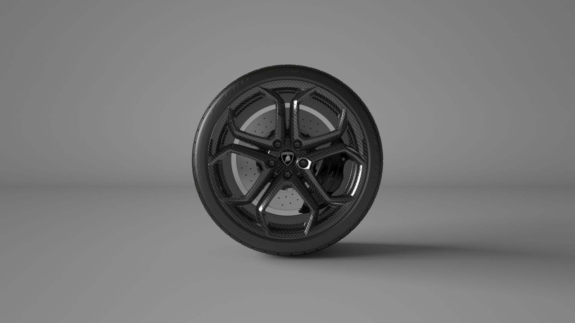 Vitesse-AuDessus Lamborghini Aventador Wheel