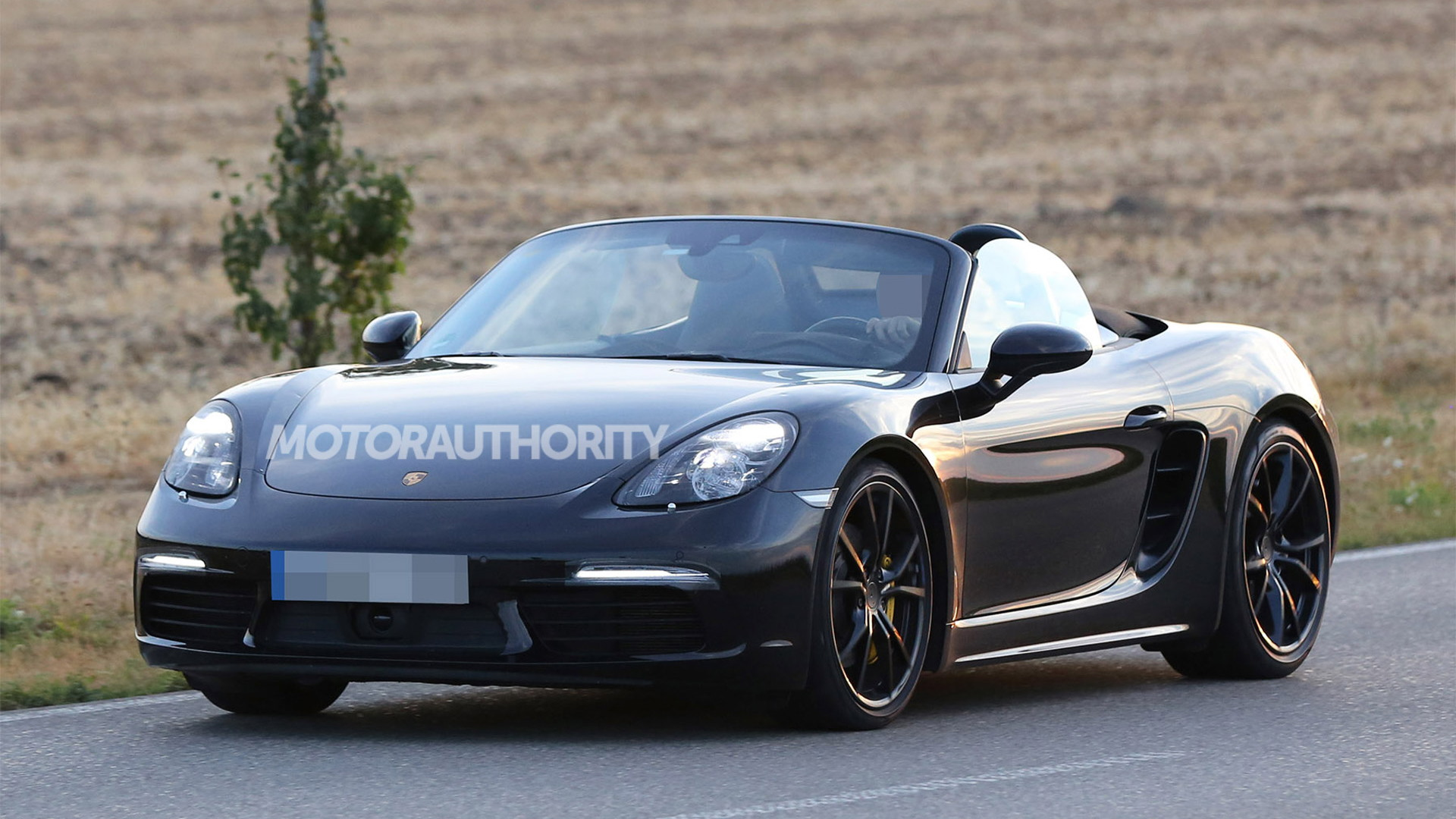 2017 Porsche Boxster Spy Shots And Video