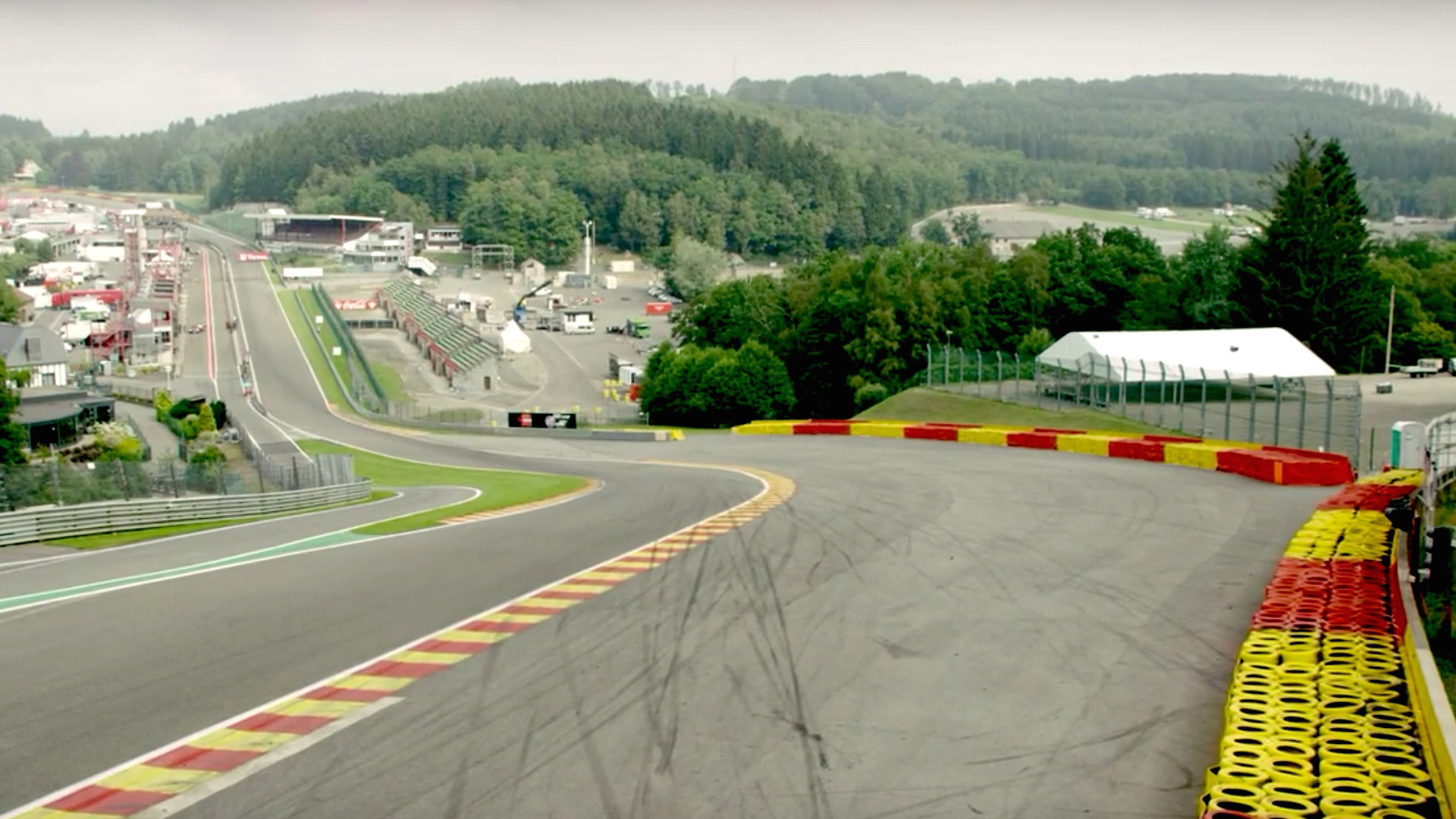 Spa-Francorchamps, home of the Formula 1 Belgian Grand Prix