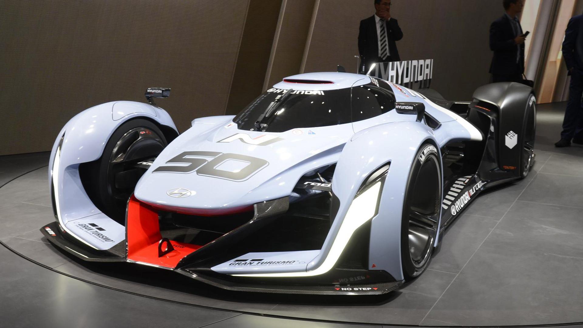 Hyundai N 2025 Vision Gran Turismo concept, 2015 Frankfurt Auto Show