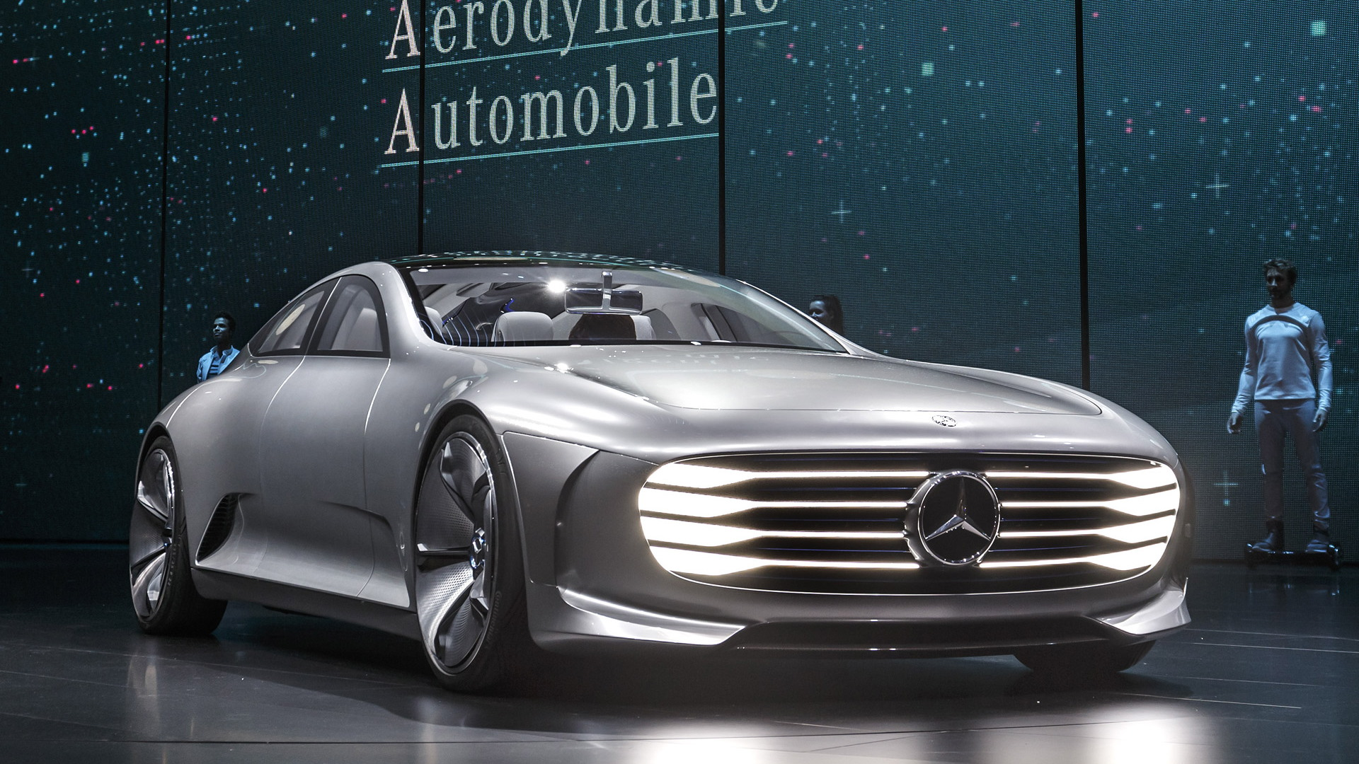 Mercedes-Benz Intelligent Aerodynamic Automobile concept, 2015 Frankfurt Auto Show